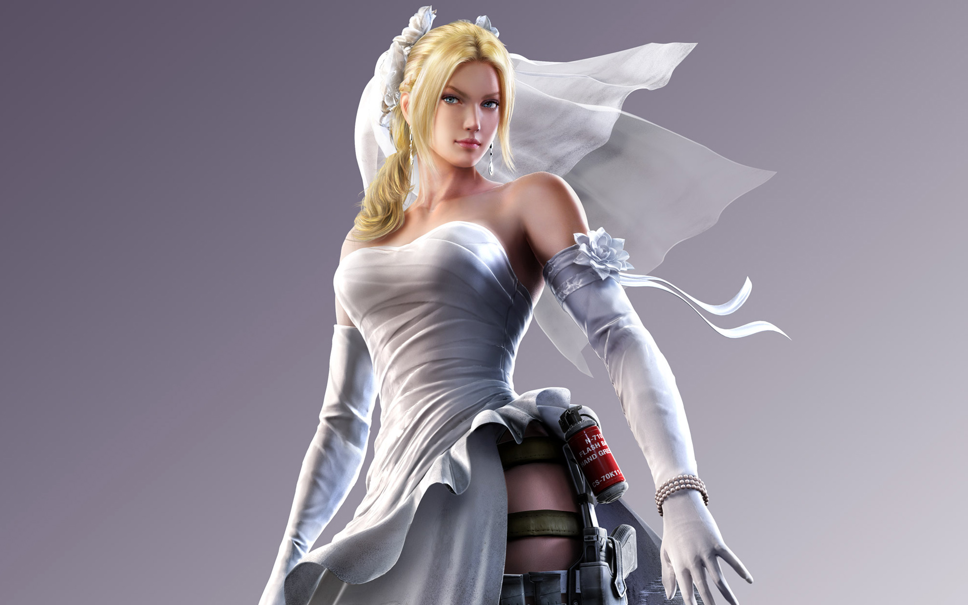 Street Fighter X Tekken Nina Williams Hd Wallpaper