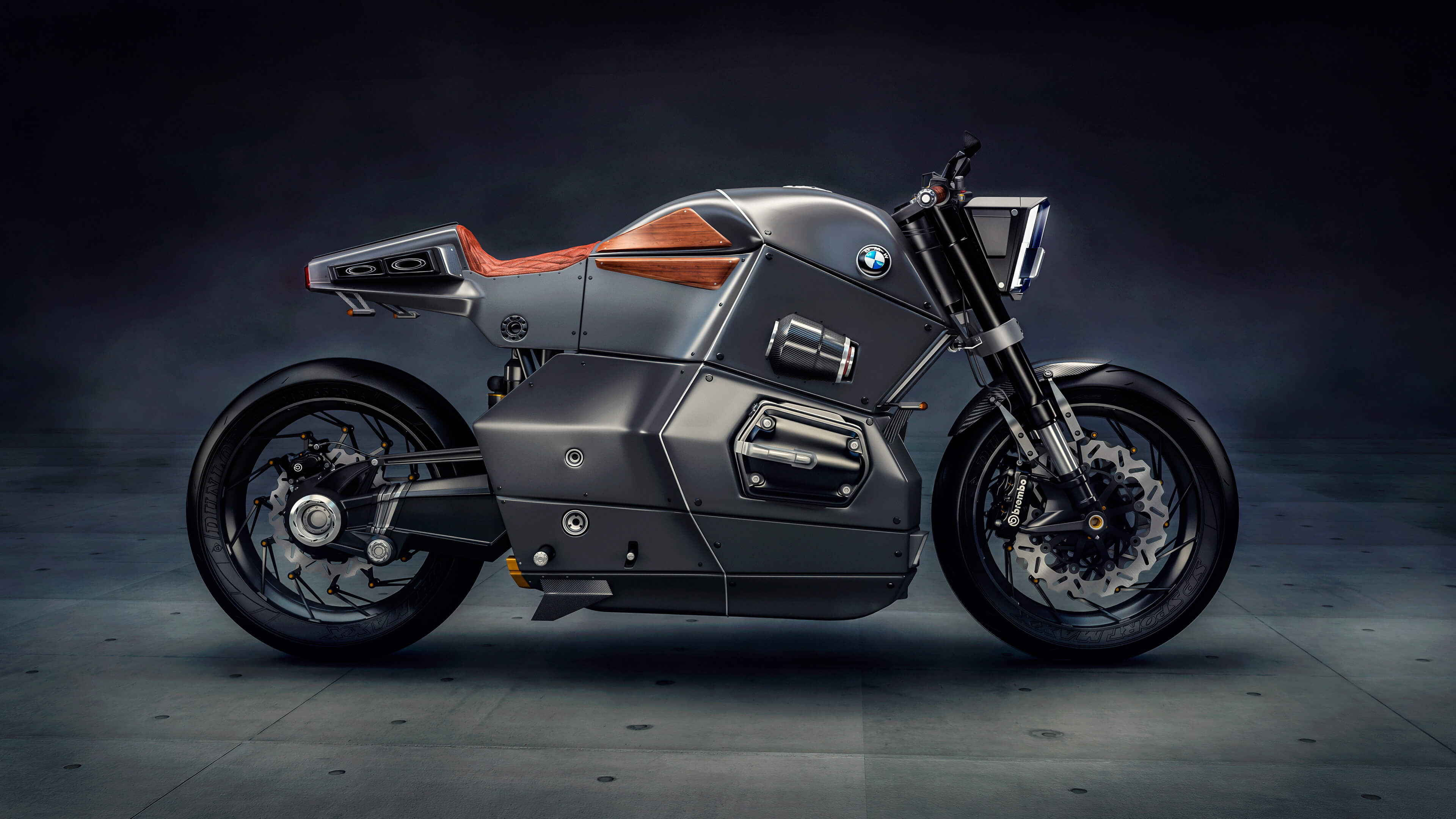 Bmw M Bike Concept 4k Wallpaper