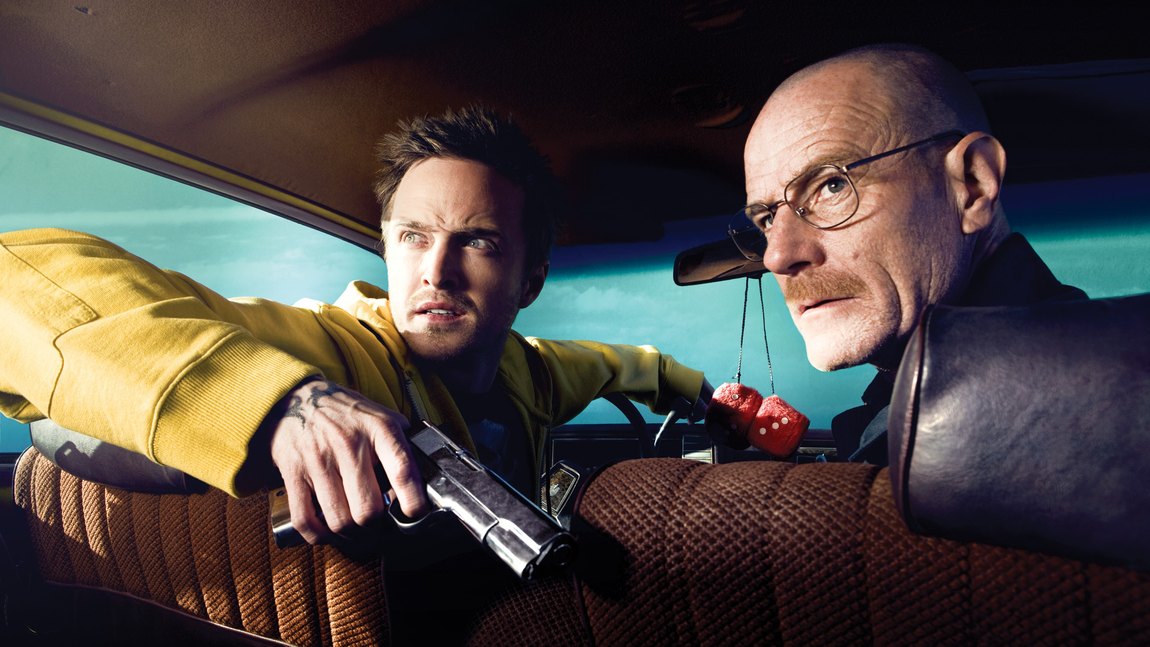Breaking Bad - Jesse Pinkman and Walter White wallpaper