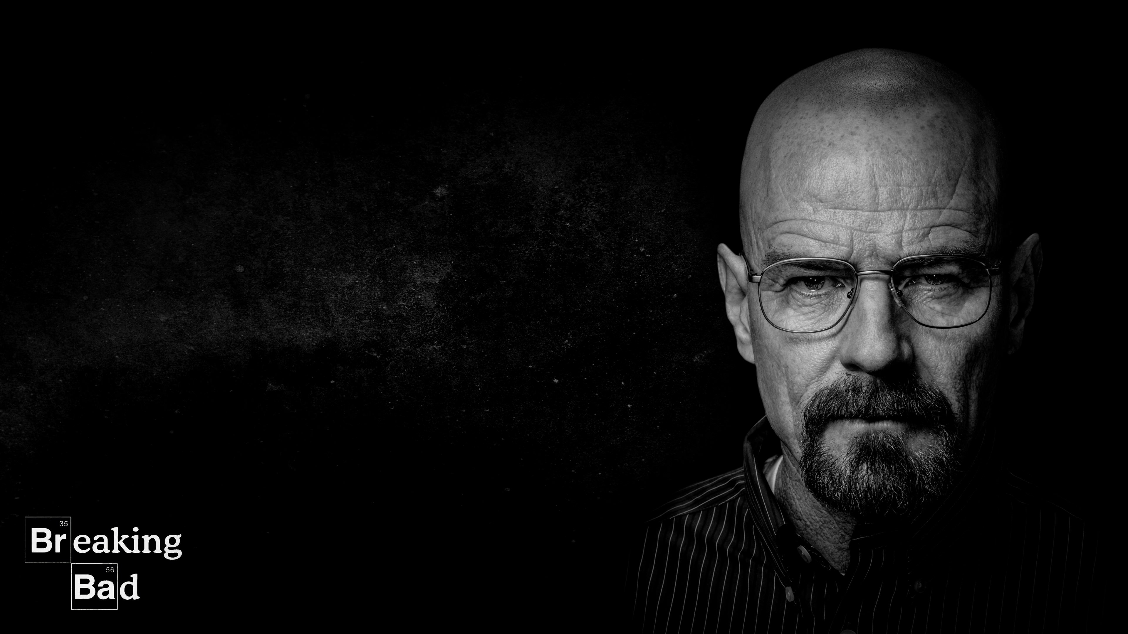 Breaking Bad - Walter White - Black and White wallpaper