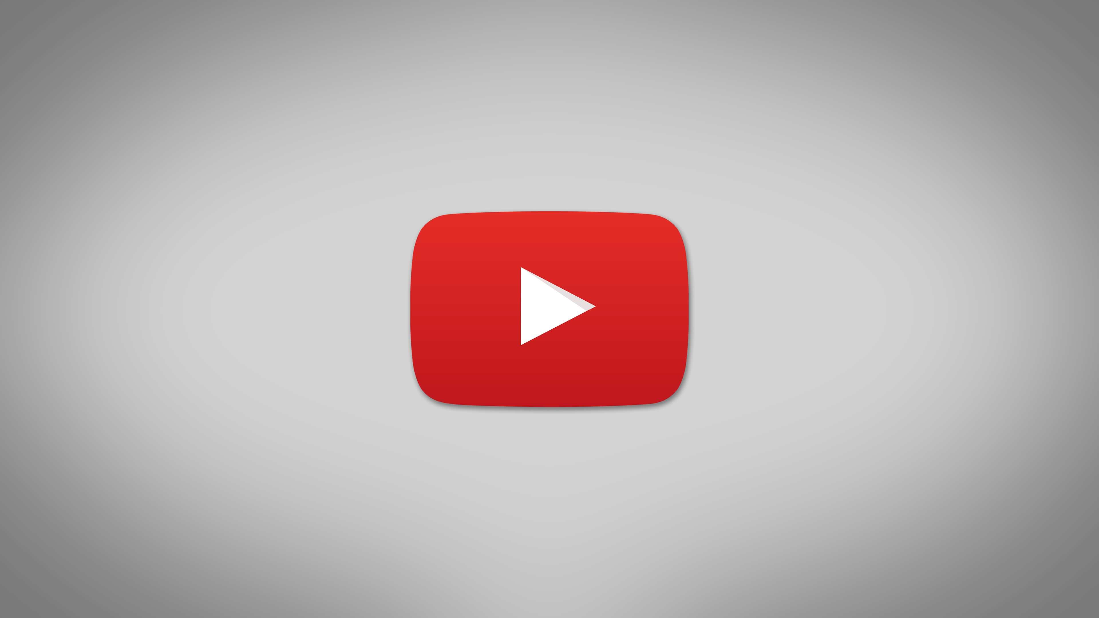 Youtube logo 4k wallpaper