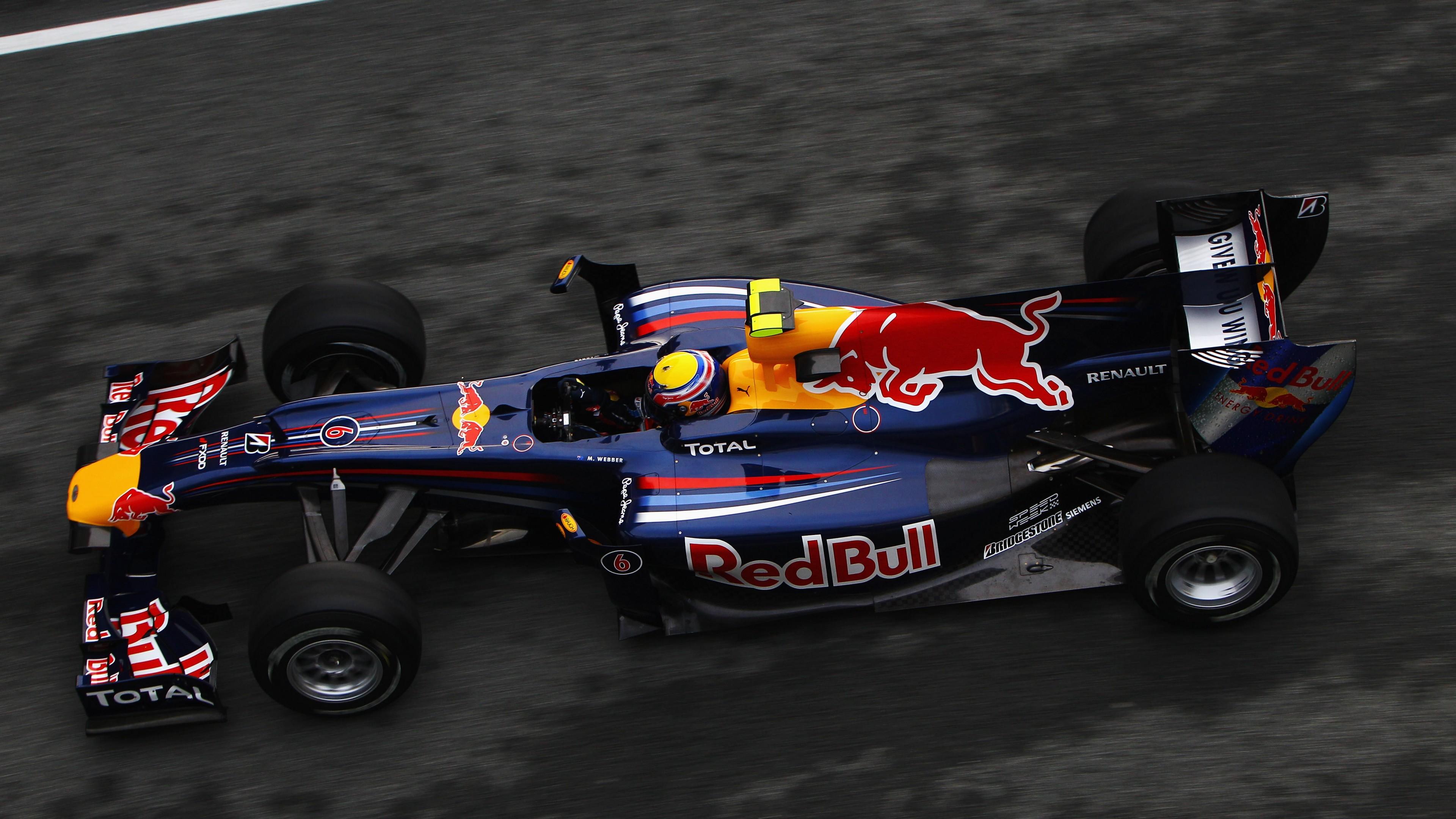 F Red Bull Team 4K Wallpaper