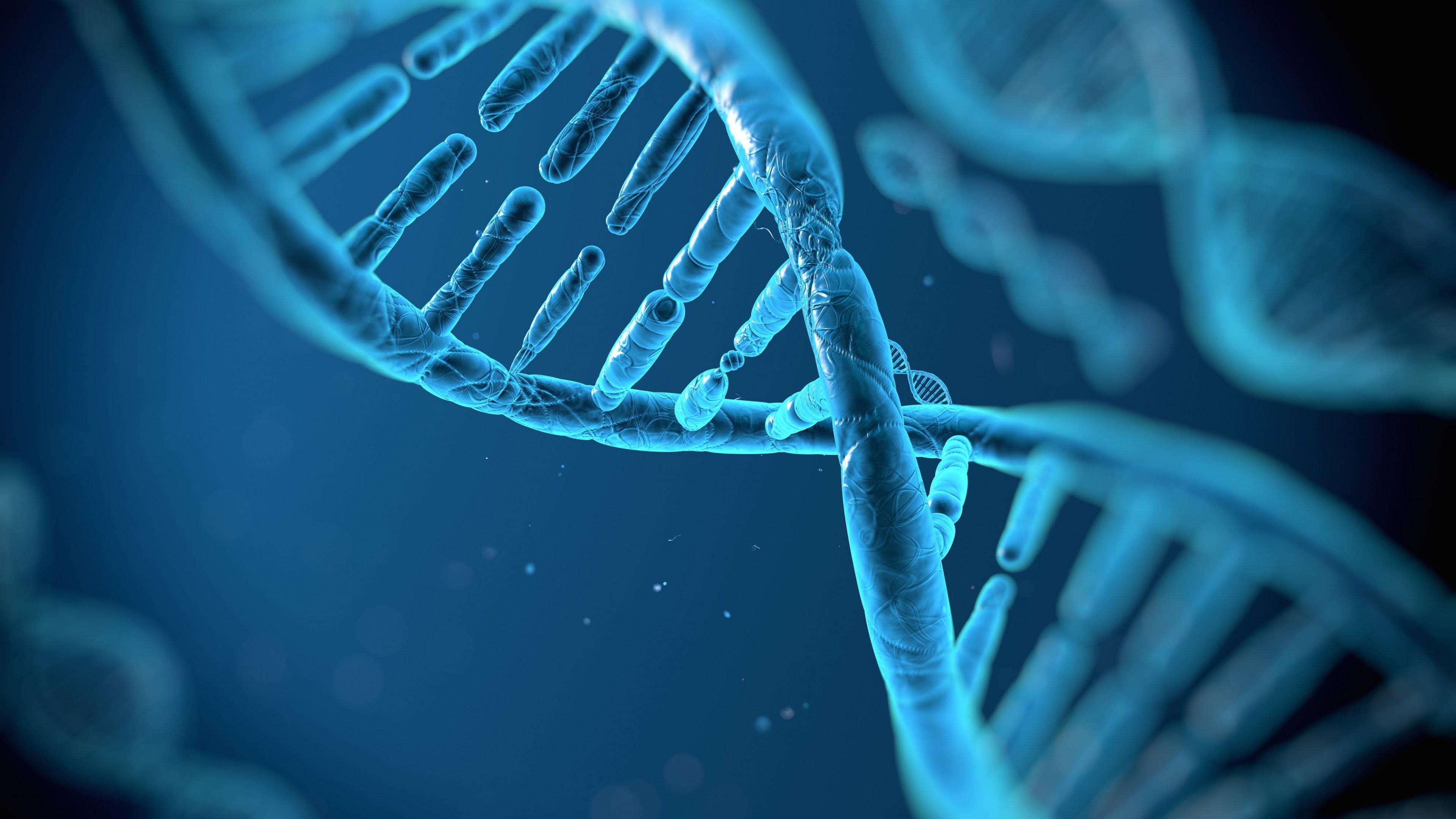 Dna Wallpaper High Resolution: DNA Structure 4K Wallpaper