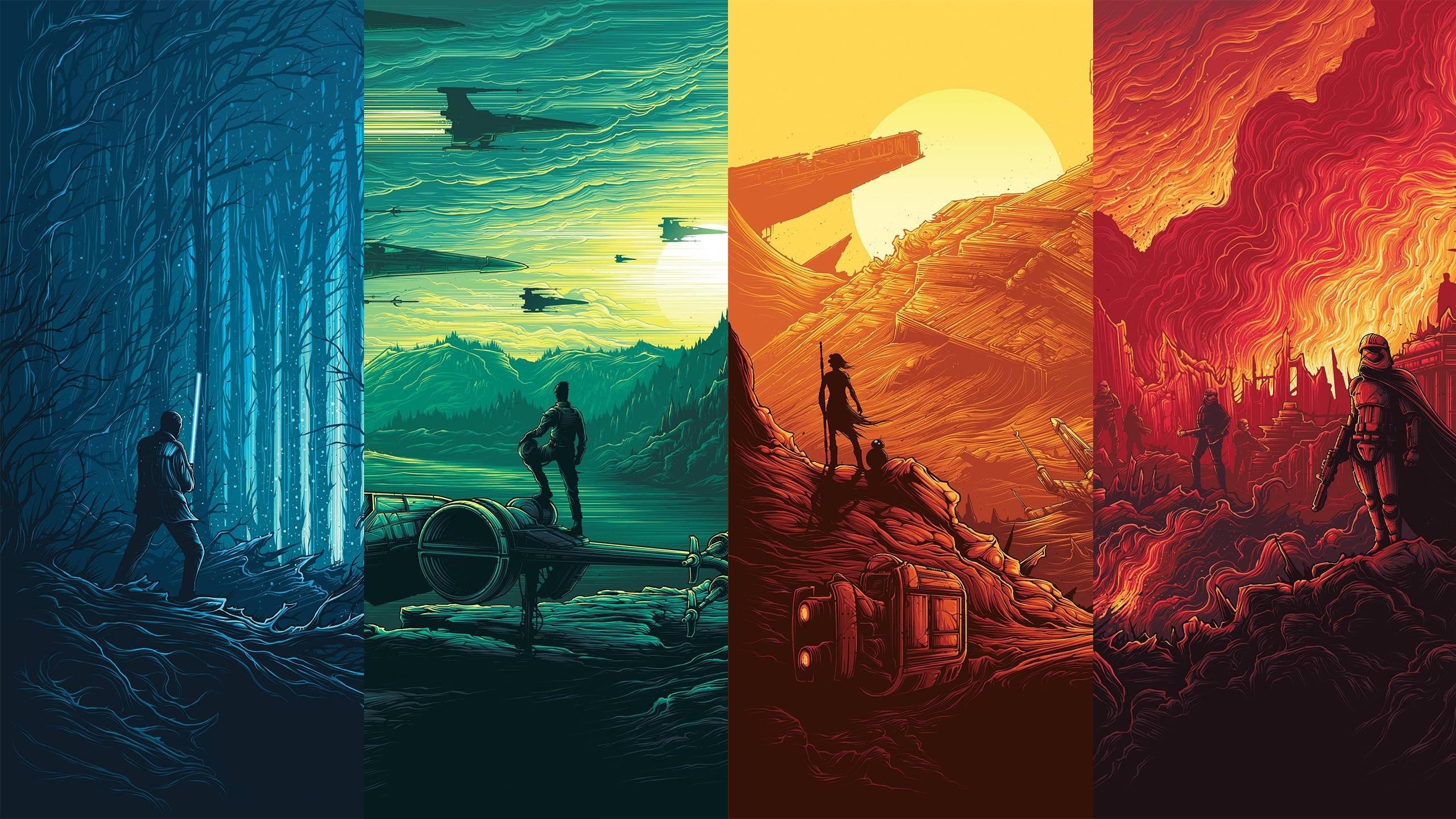Star Wars Force Awakens Posters Hd Wallpaper
