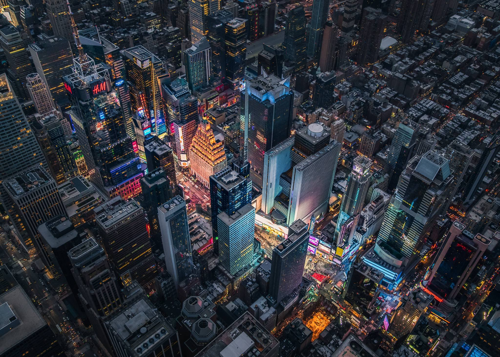 Times Square at Night wallpaper