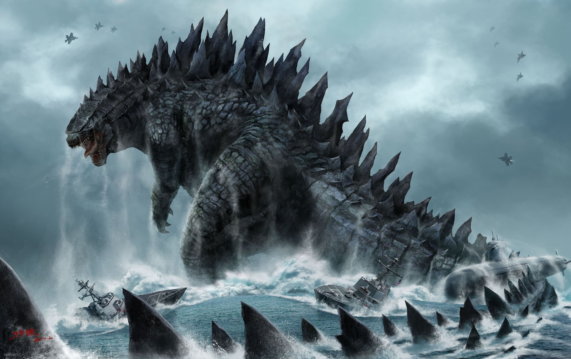 Godzilla for Your Desktop wallpaper
