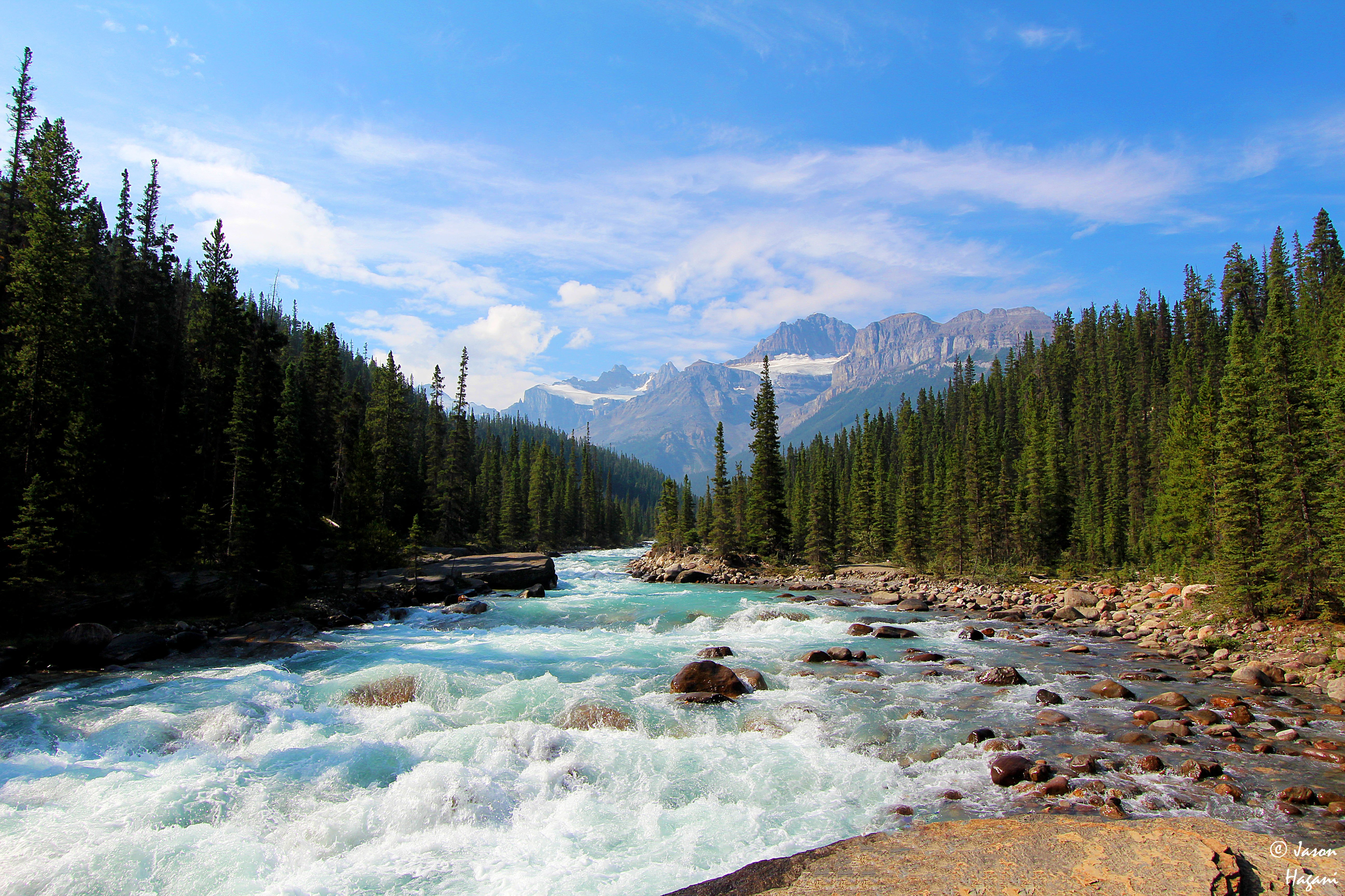 River in Banff National Park Canada wallpaper