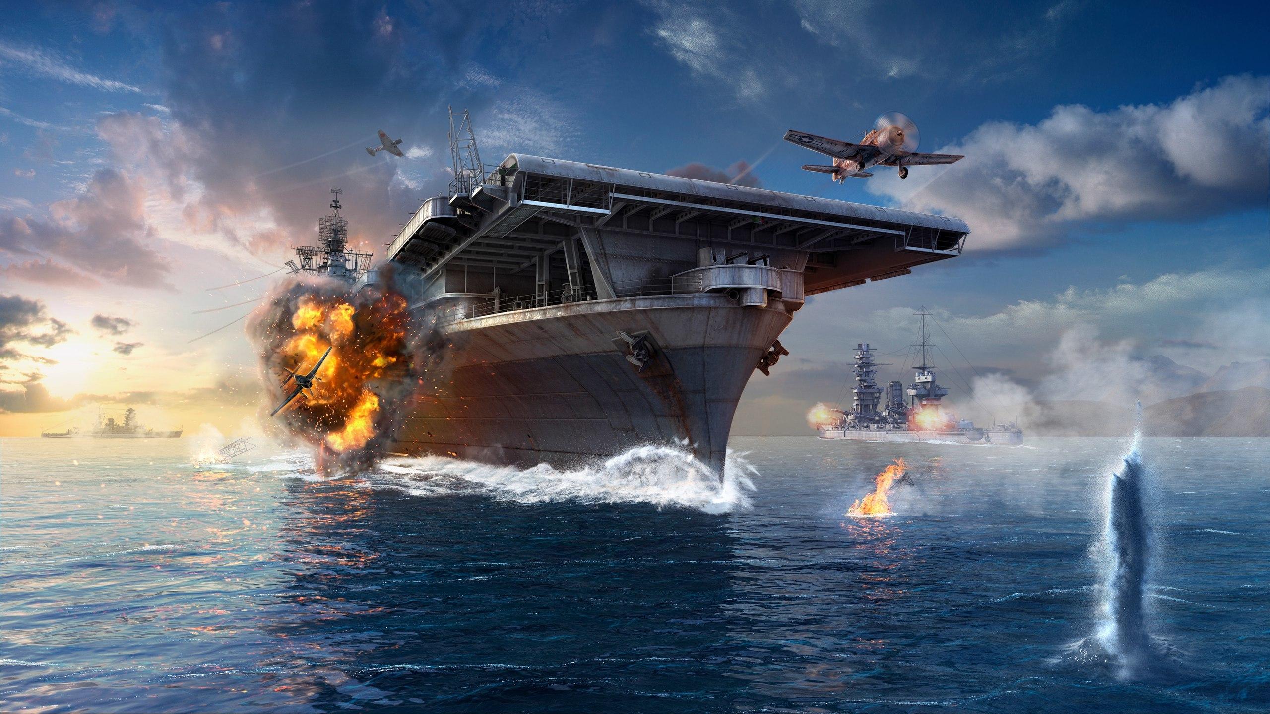 world of warships wallpaper 2560x1080