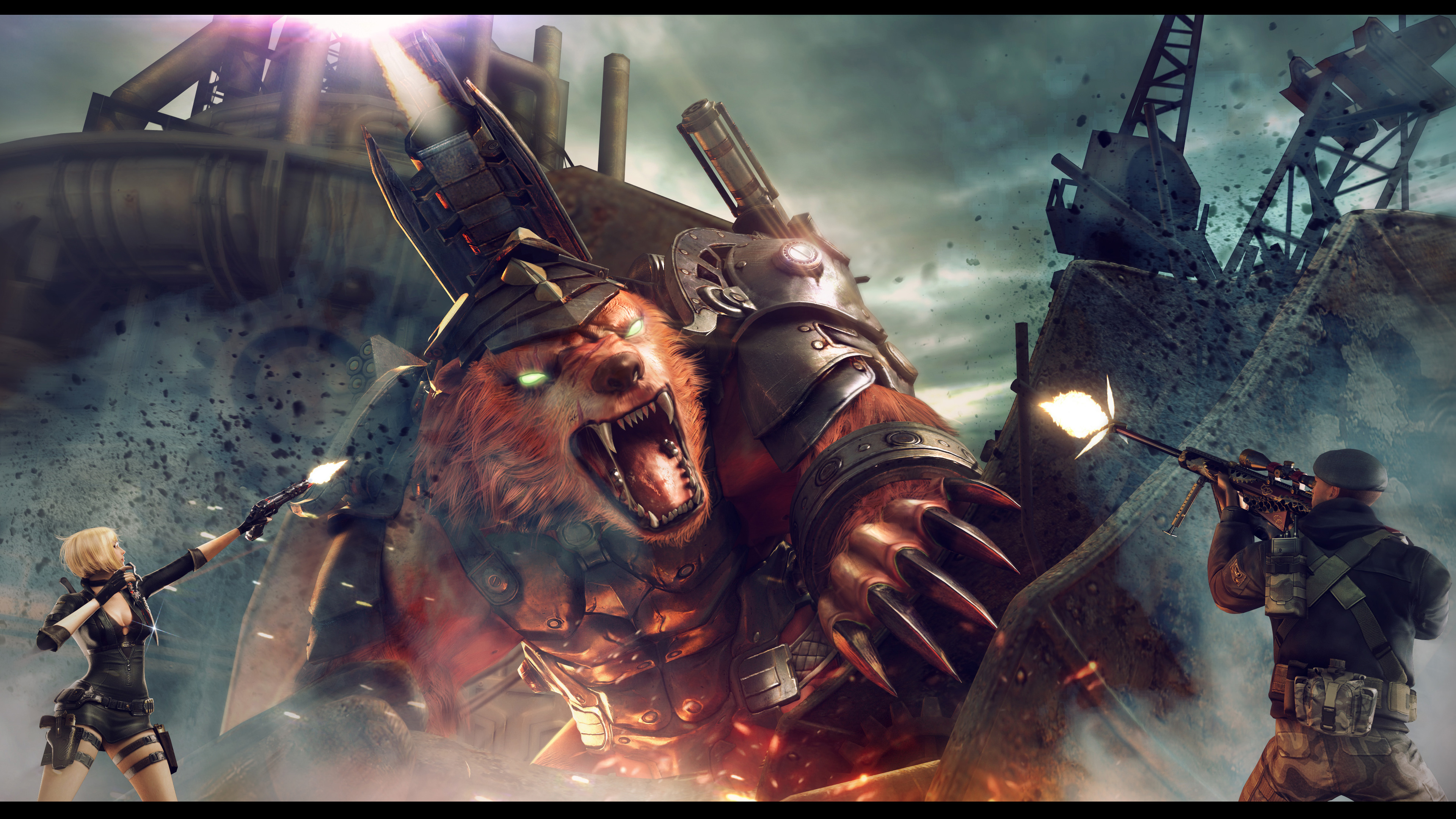 CrossFire China Gods Arena Boss Big Bear wallpaper
