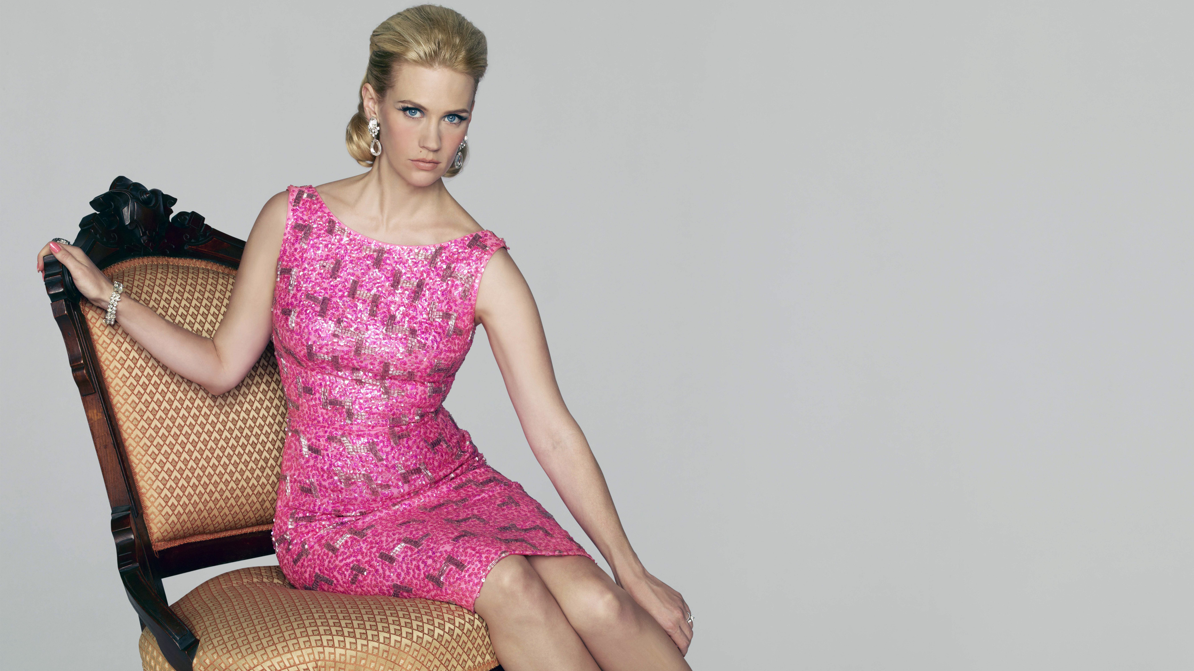 Mad Men Actress January Jones wallpaper