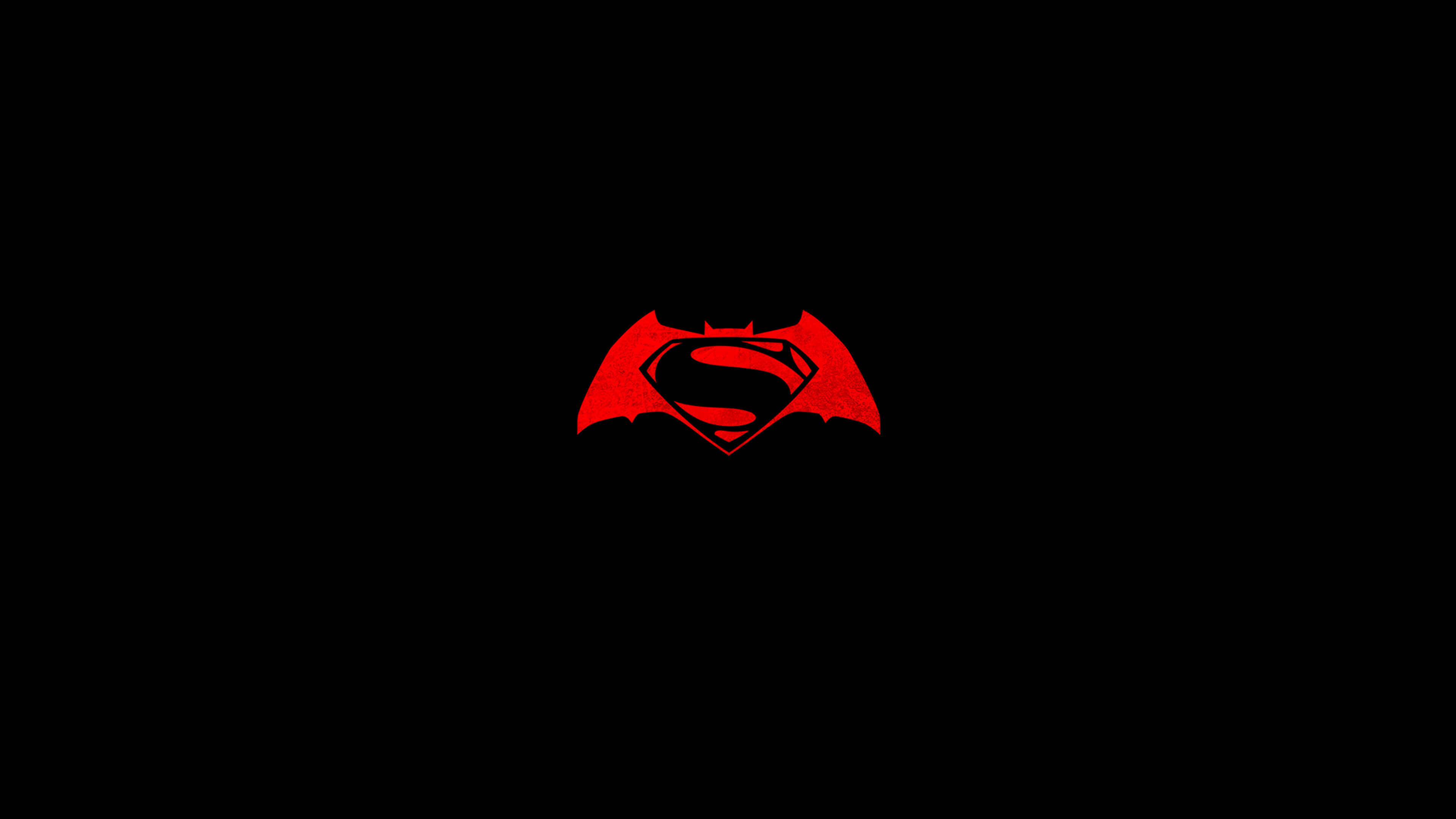 Batman V Superman Logo 4k Wallpaper