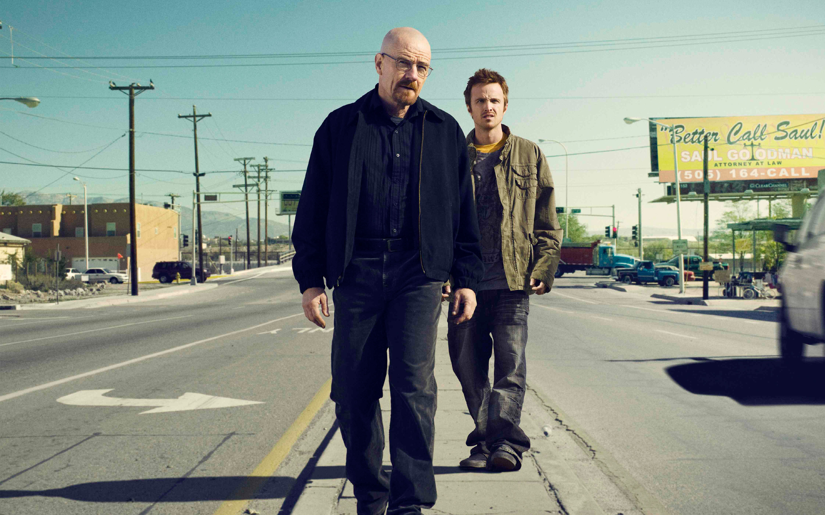 Walt Jesse Breaking Bad wallpaper