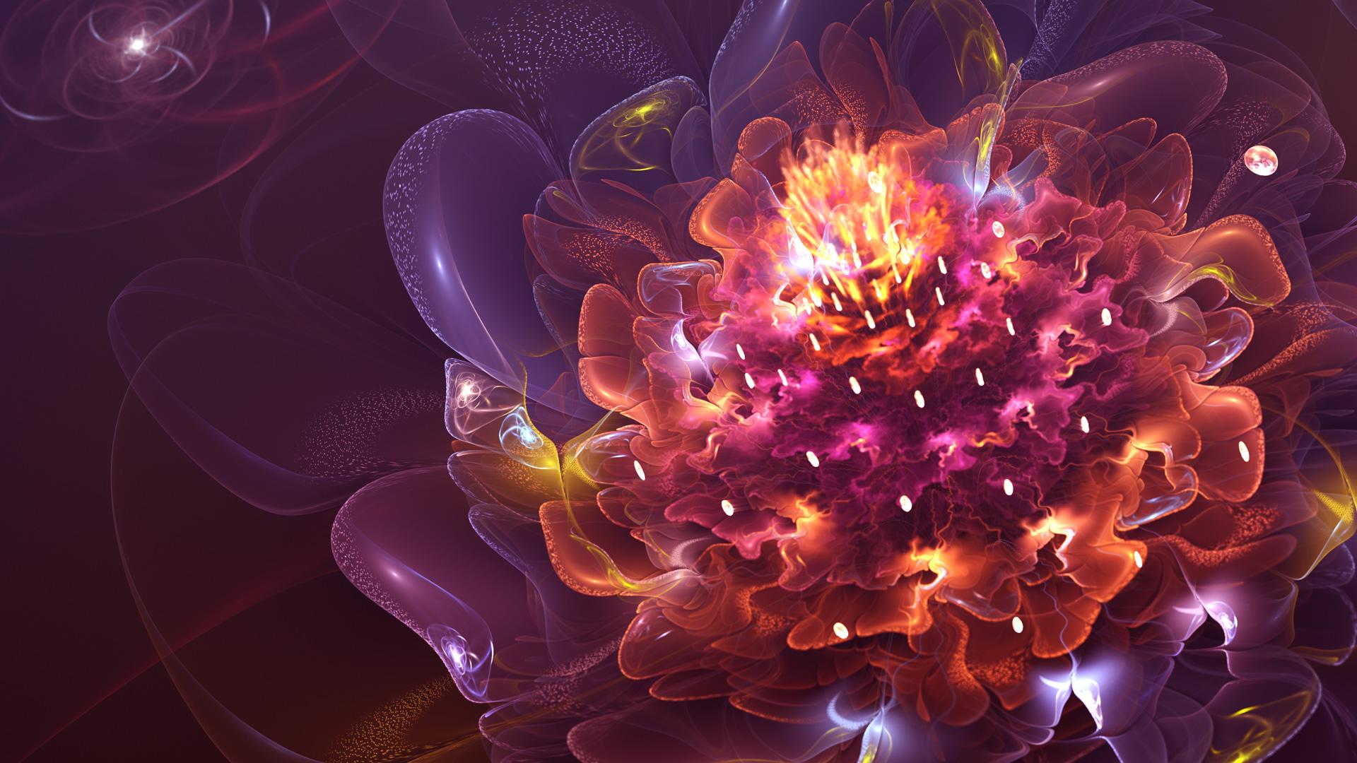 Abstract Flower 22 Hd Wallpaper