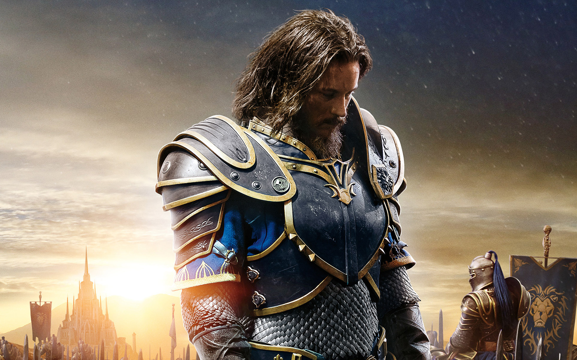 Anduin Lothar Warcraft Movie Hd Wallpaper