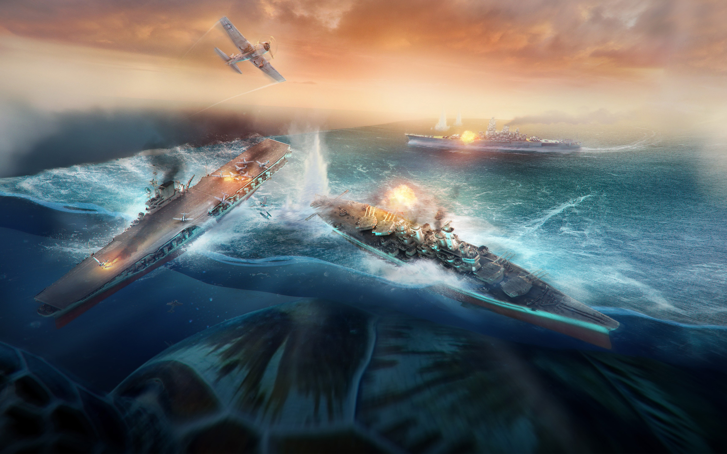 World Of Warships 4k Hd Wallpaper