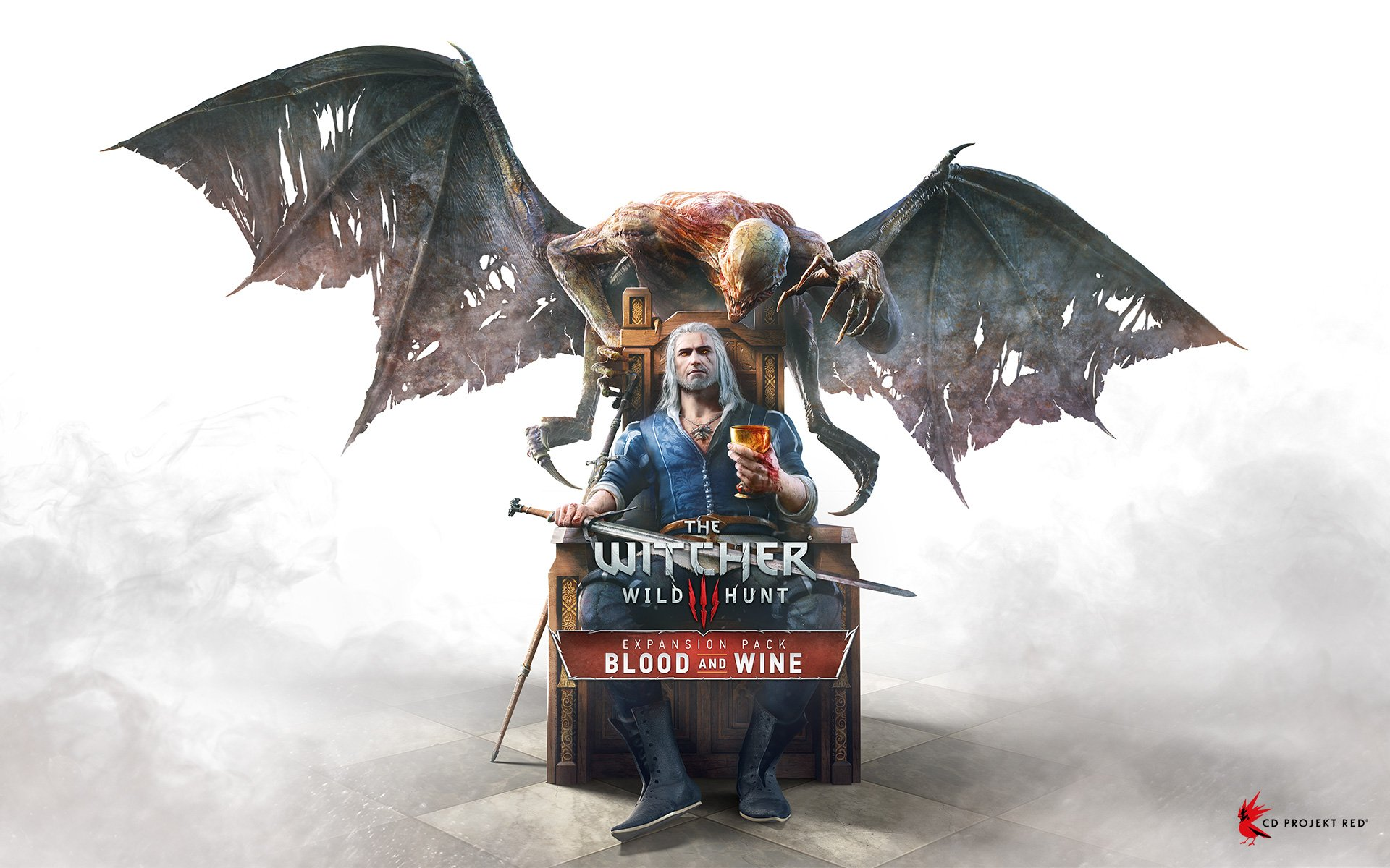 The Witcher Wild Hunt Blood and Wine wallpaper