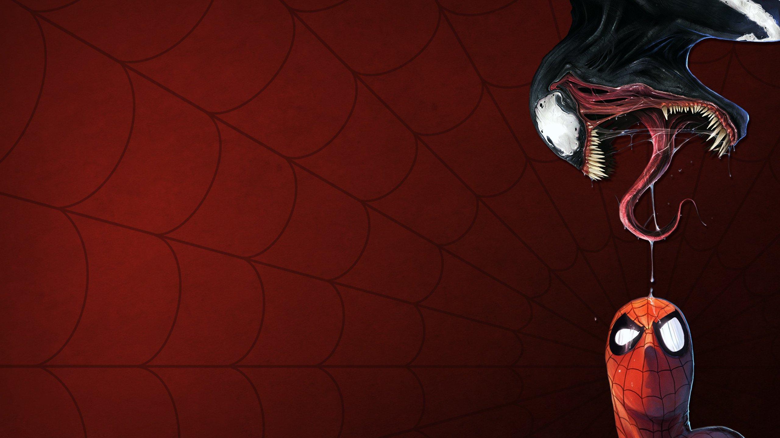 Spider Man Vs Venom Hd Wallpaper