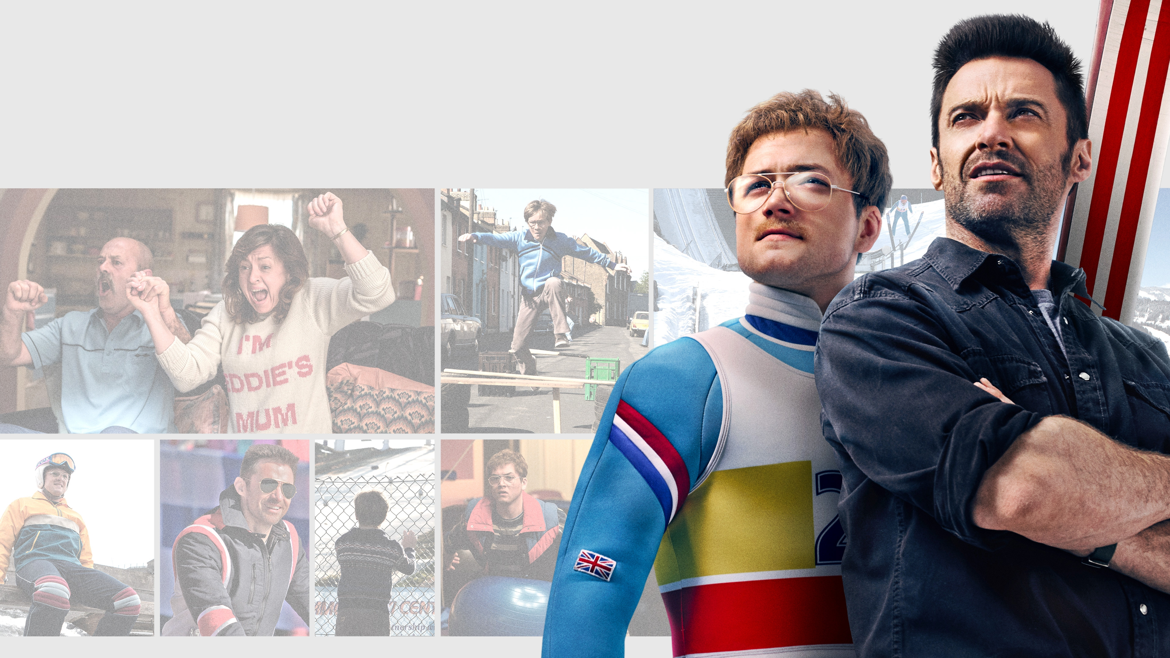 Eddie The Eagle Hugh Jackman wallpaper