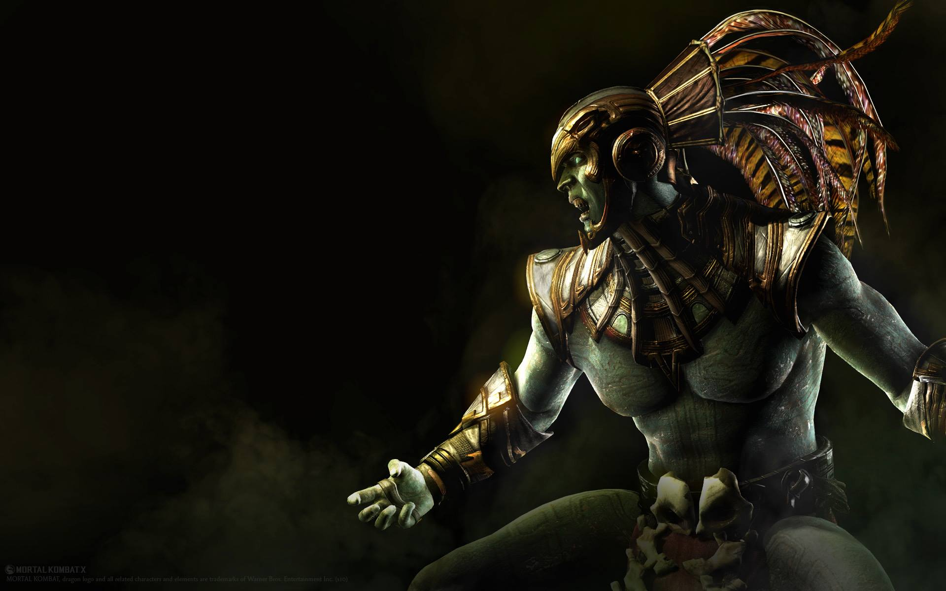 Kotal Kahn Mortal Kombat X Hd Wallpaper