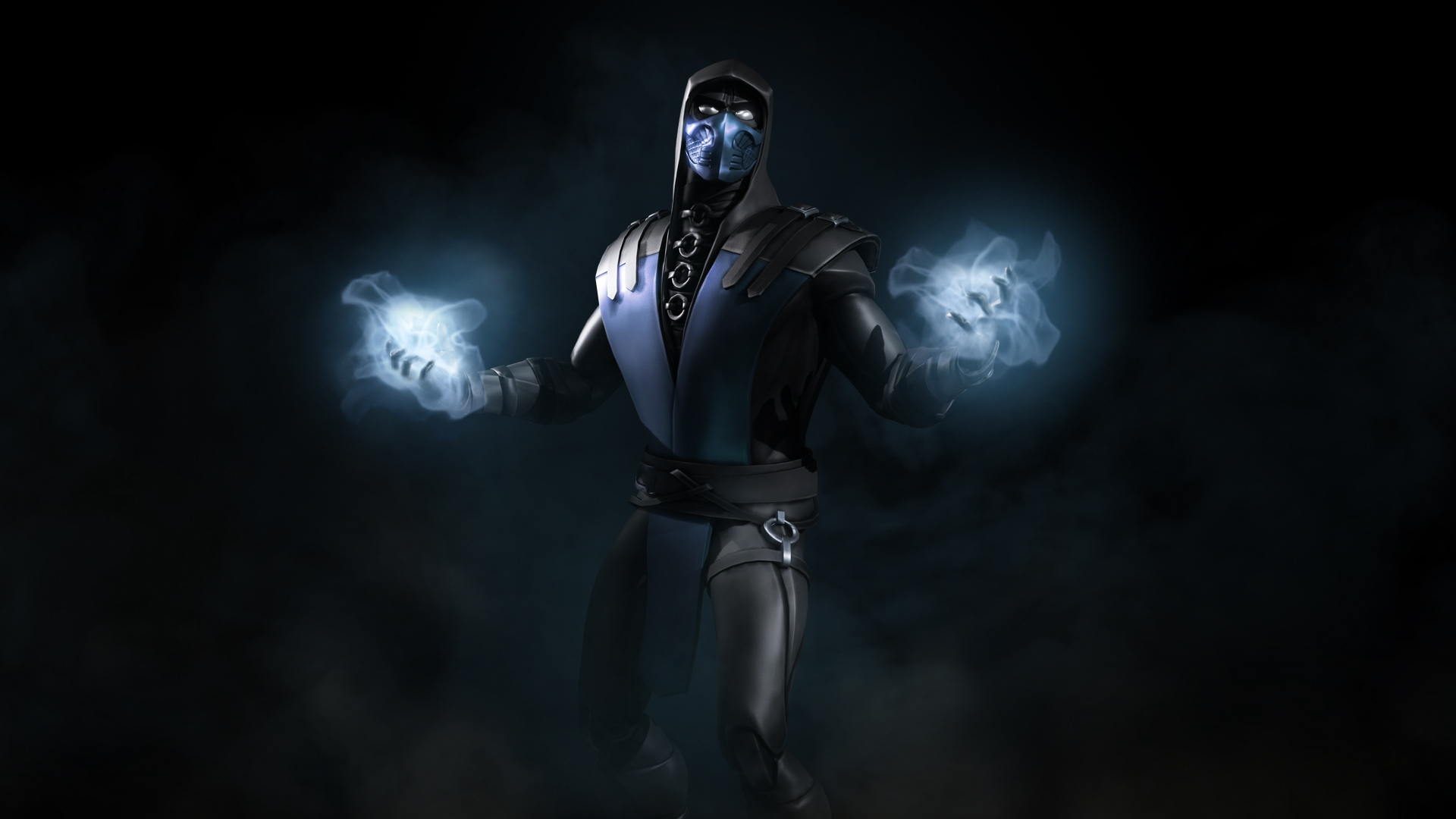 Mortal Kombat X Blue Steel Sub Zero Hd Wallpaper