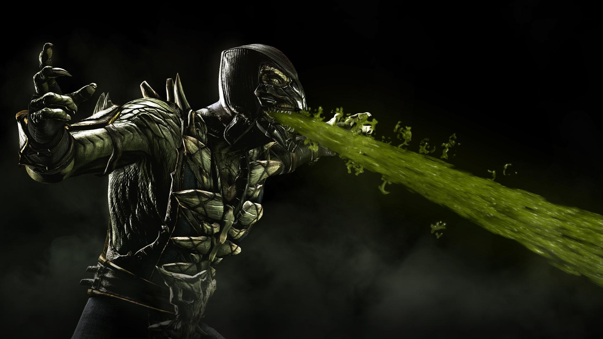 Reptile Mortal Kombat X Hd Wallpaper