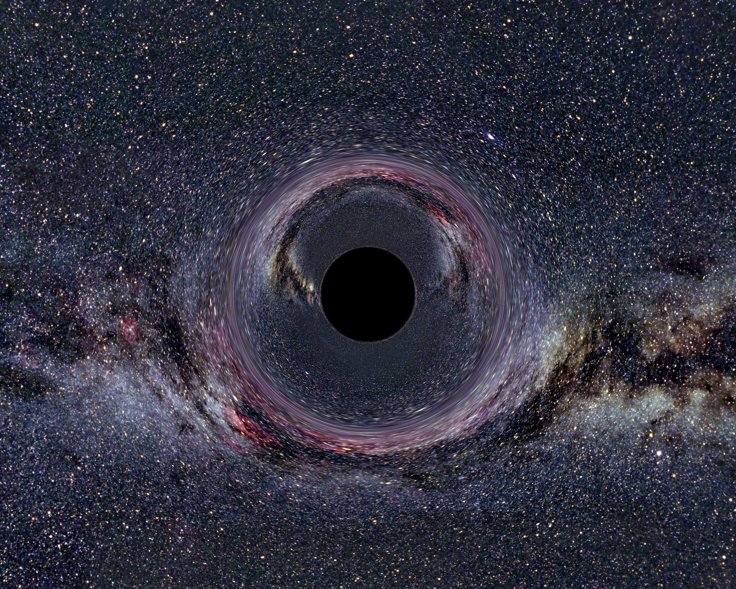 Our Universe Is In A Black Hole Hd Wallpaper