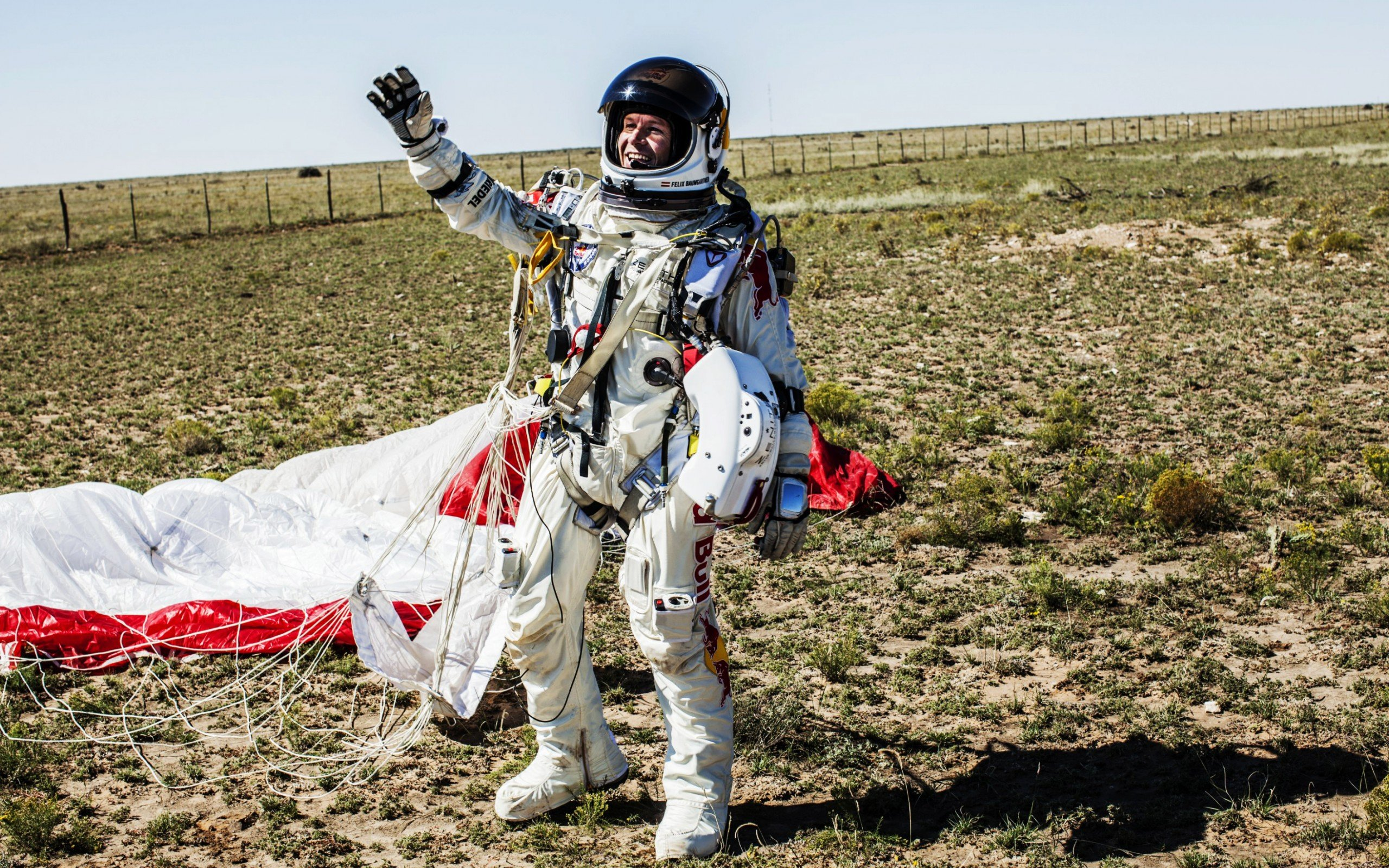 Red Bull Stratos wallpaper