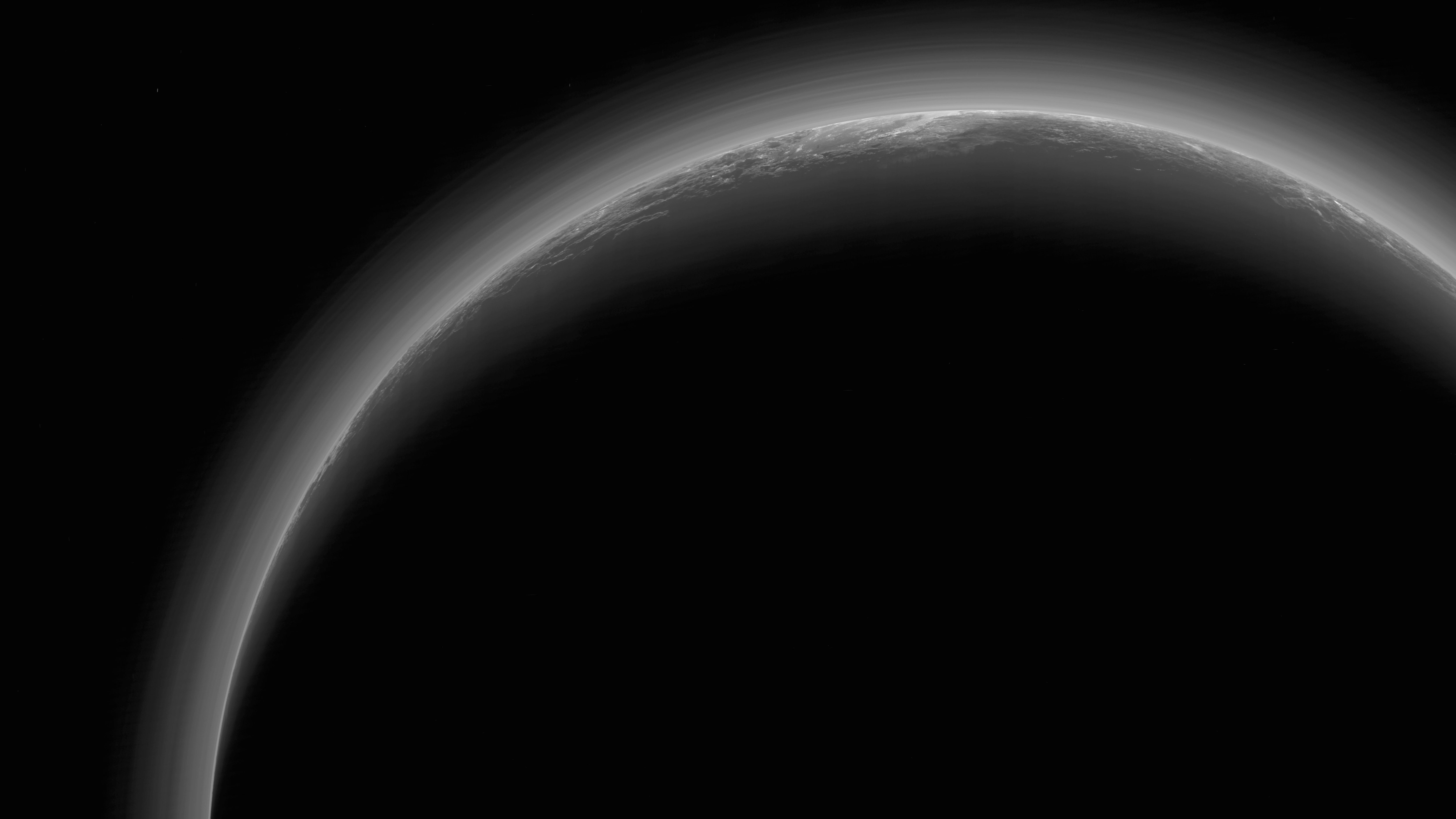 The Dark Side of Pluto wallpaper