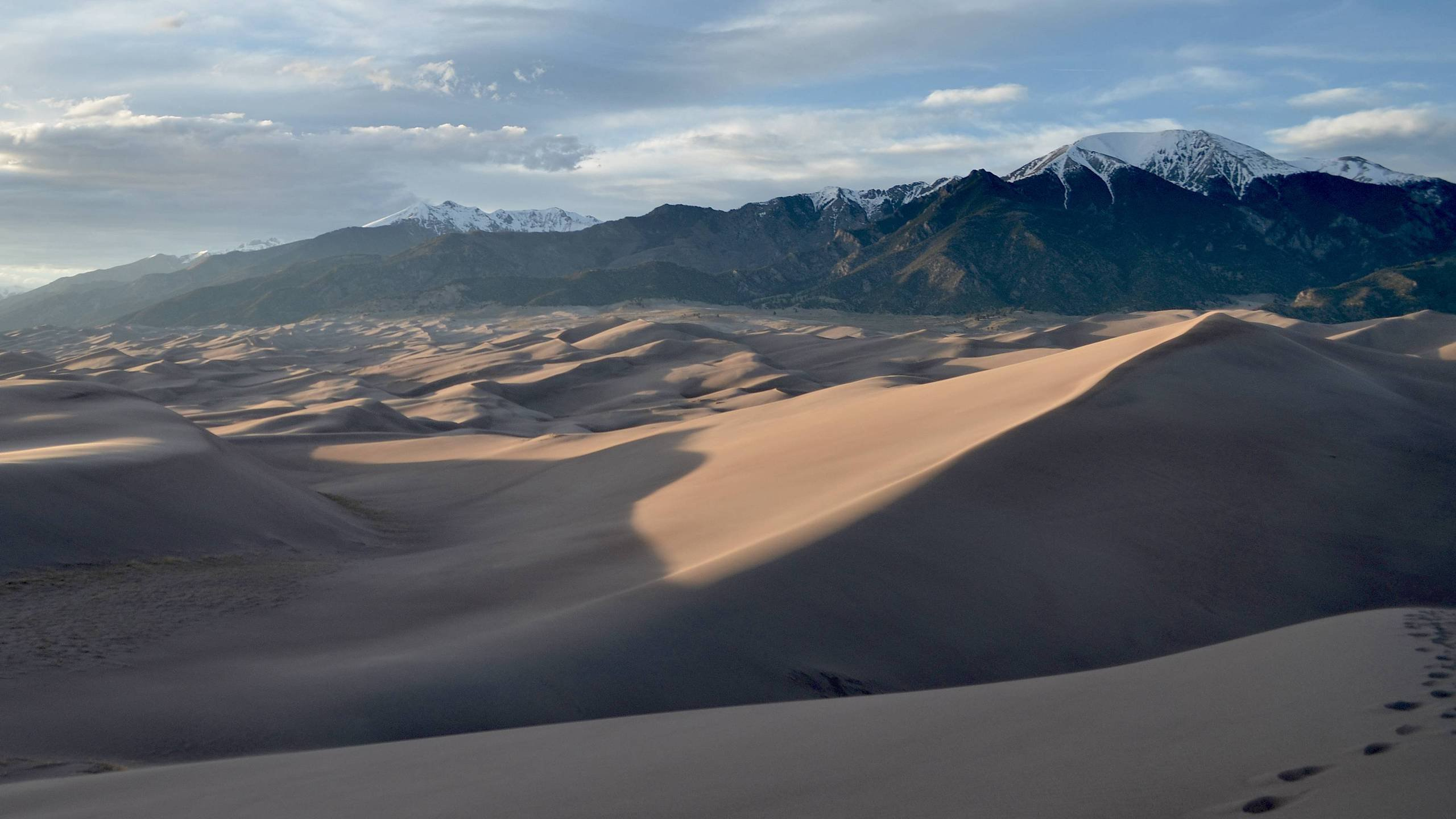 Great Sand Dunes National Park CO at Sunset wallpaper