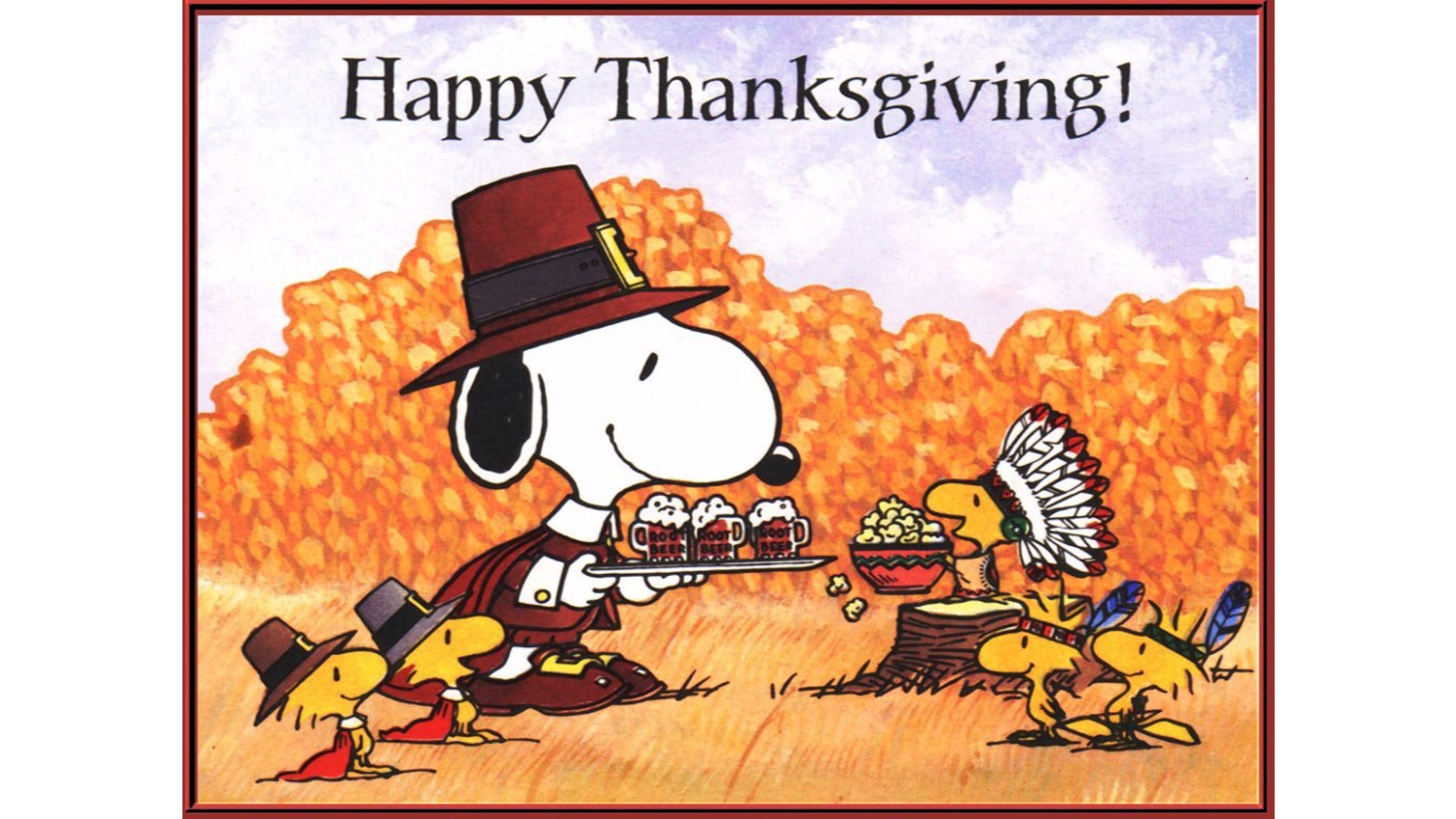 snoopy happy thanksgiving 4k -#main