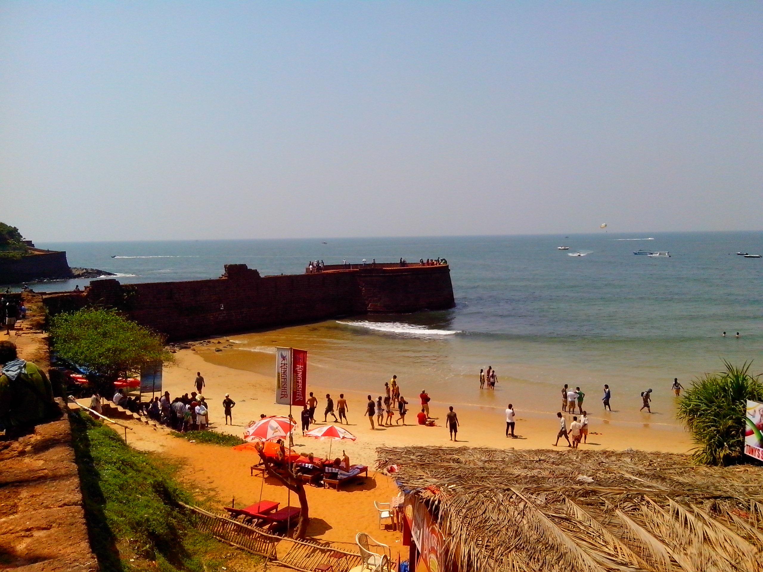 Baga Beach In Goa India Hd Wallpaper