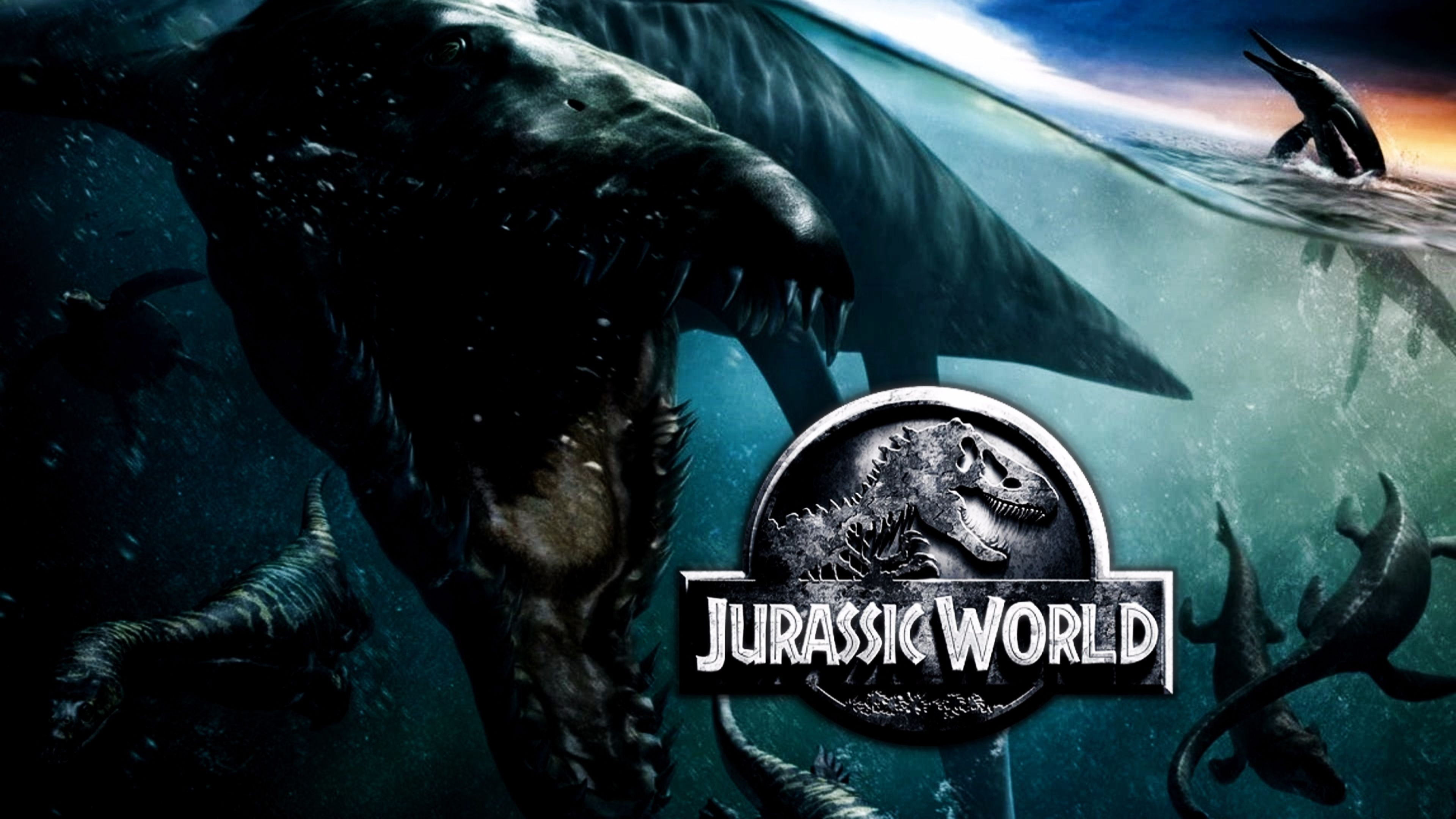 Jurassic World 4k Wallpaper