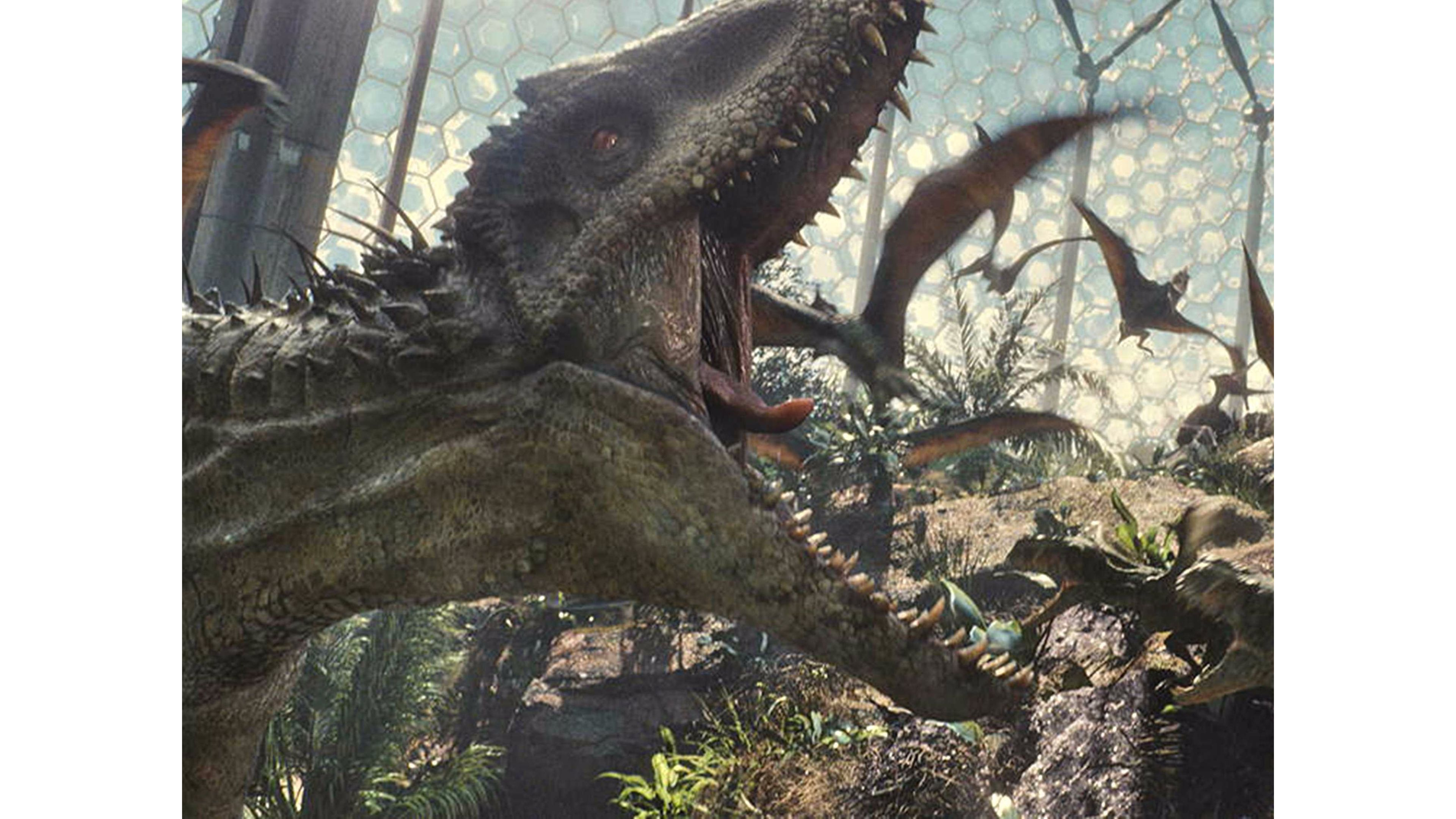 Inspiring Jurassic World 4k Wallpaper