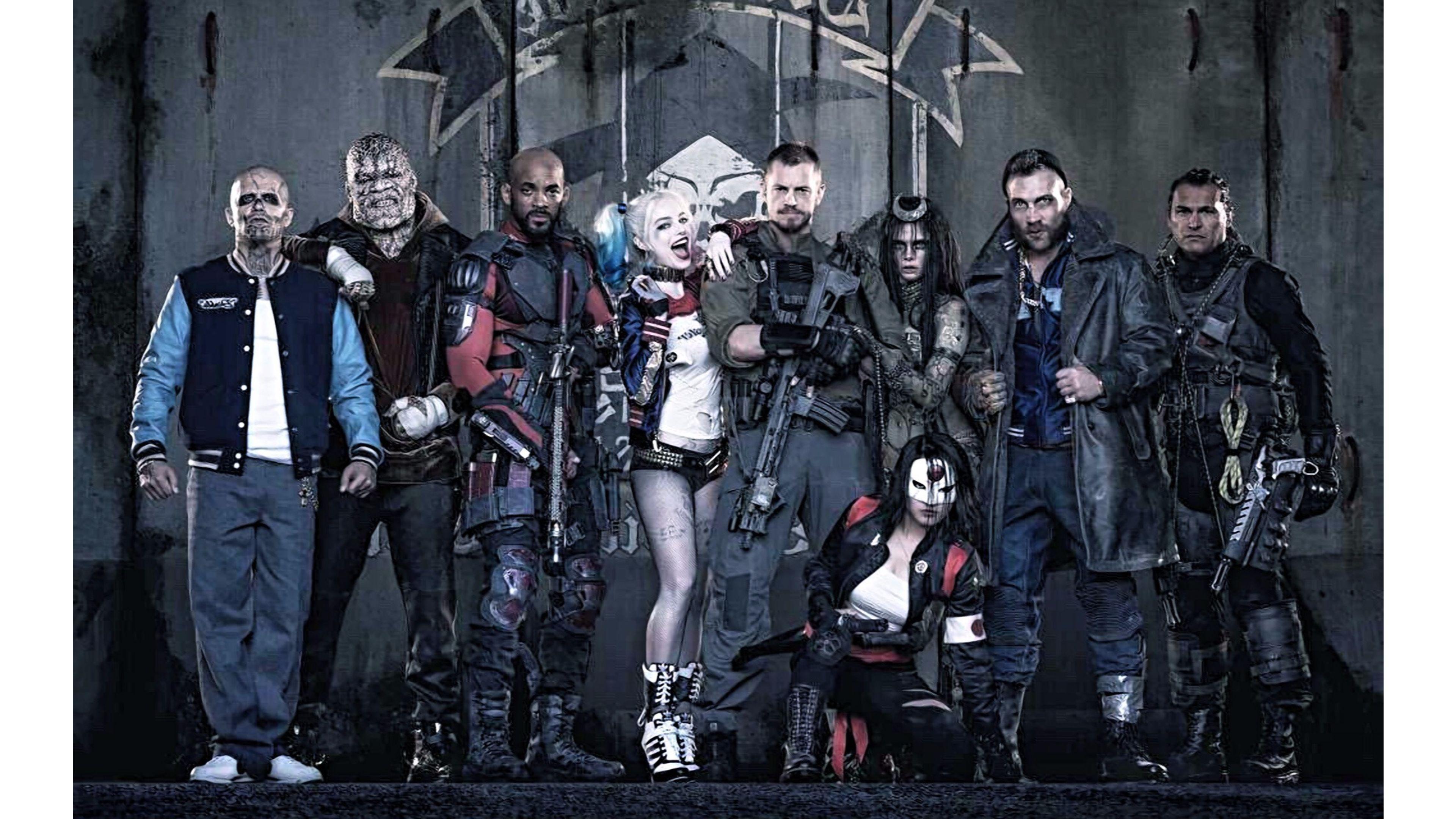 Top Suicide Squad Movie 4k Wallpaper