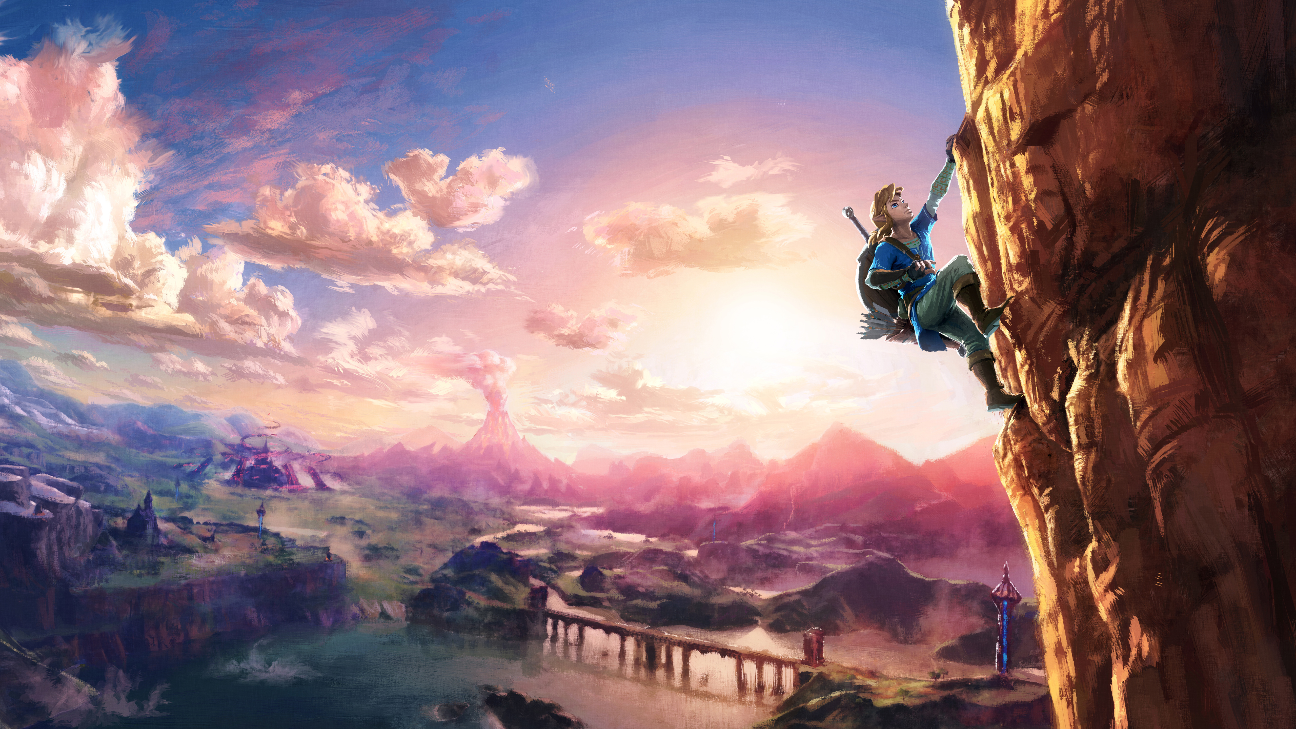 Zelda Breath Of The Wild Wallpaper 4k: Zelda: Wallpapers, Photos And Desktop Backgrounds Up To 8K