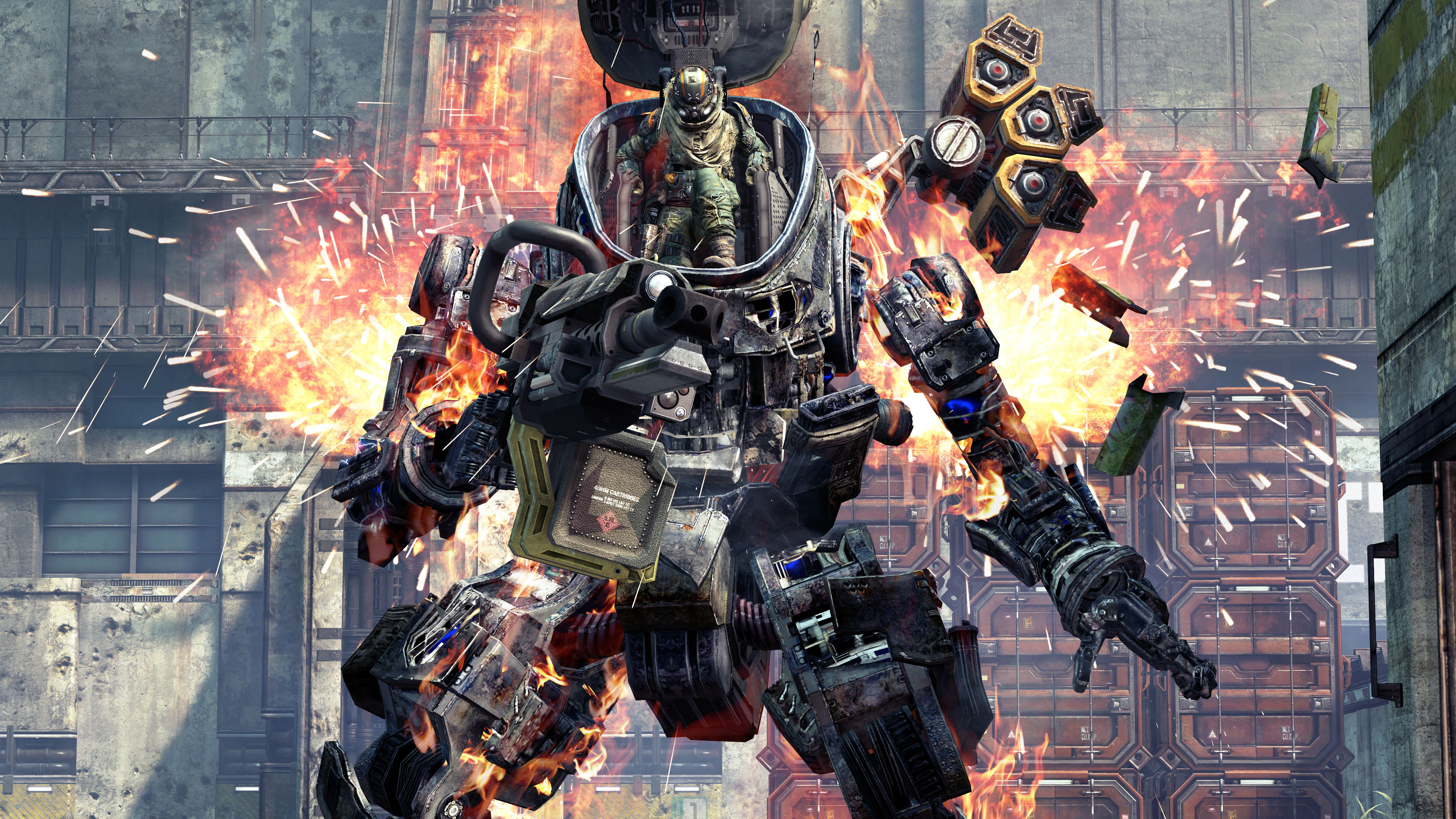 Titanfall 4K wallpapers for your desktop or mobile screen ...