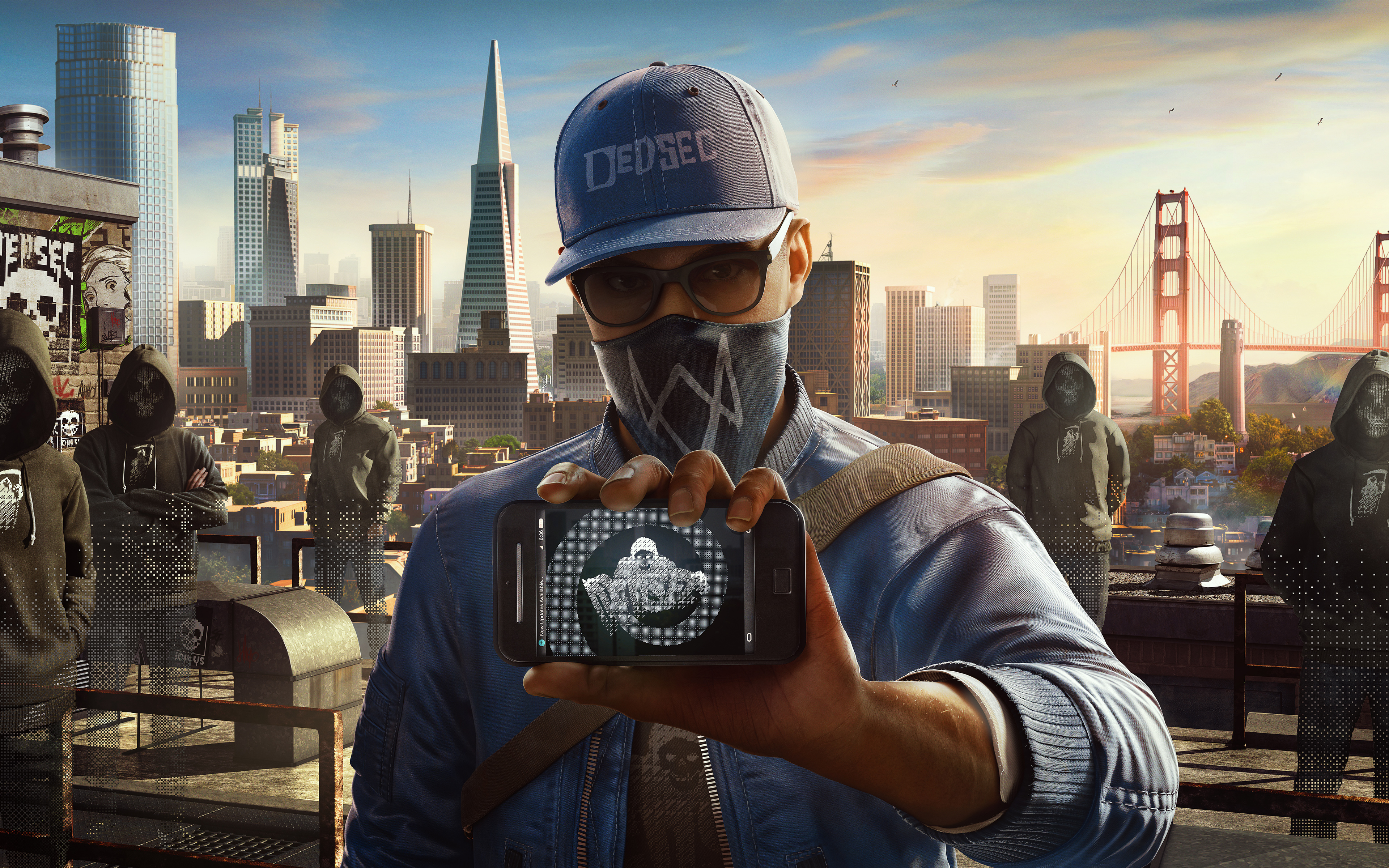 Watch Dogs Marcus 5K wallpaper
