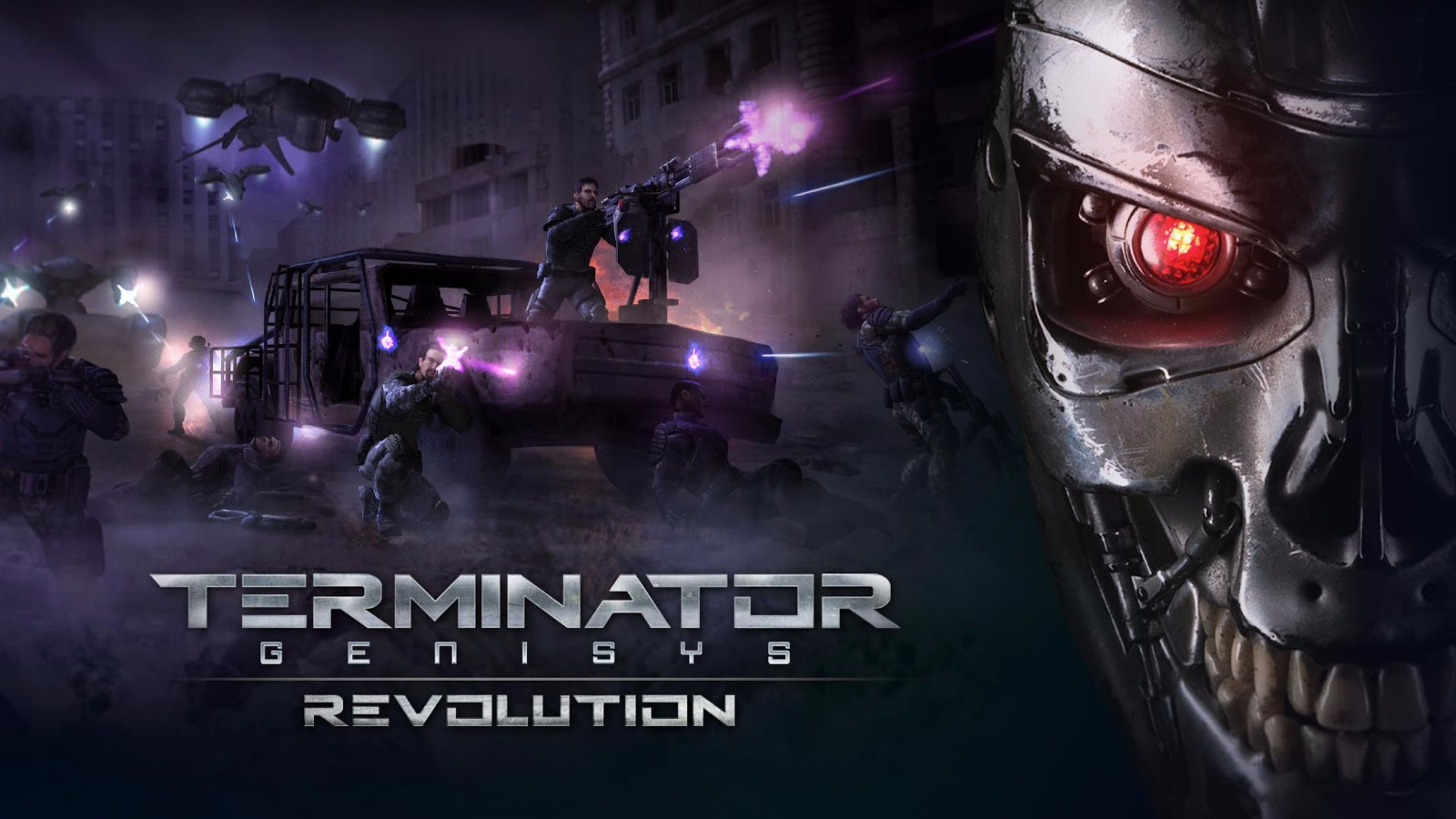 Revolution Terminator Genisys wallpaper