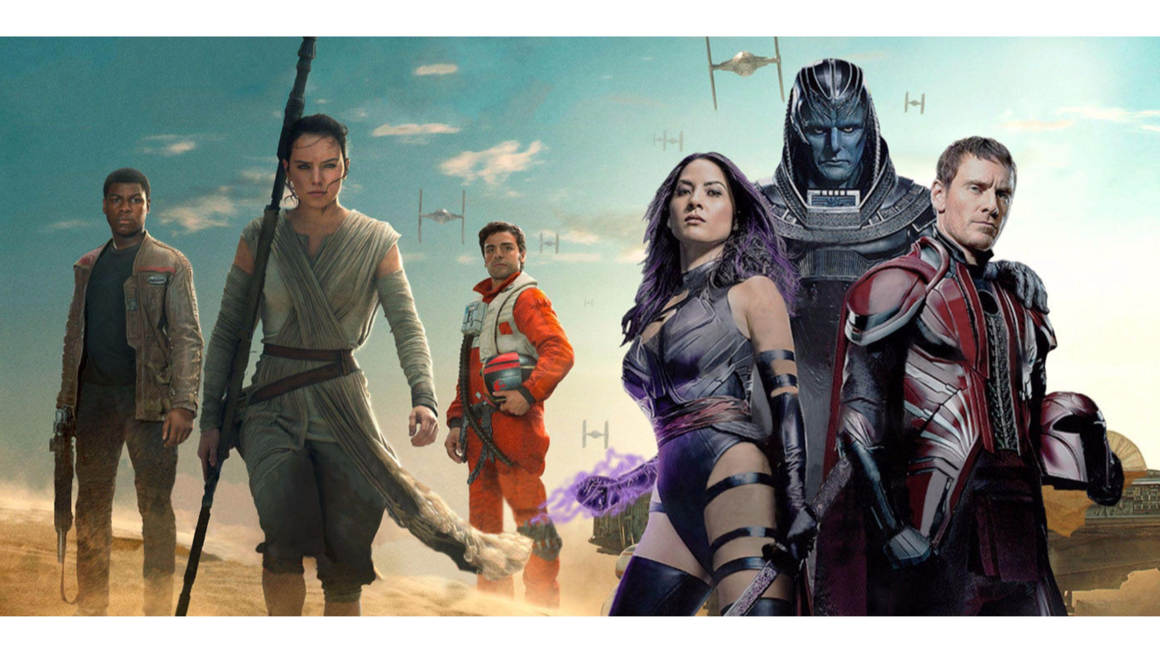 Star Wars And Xmen Apocalypse Movie 4k Wallpaper