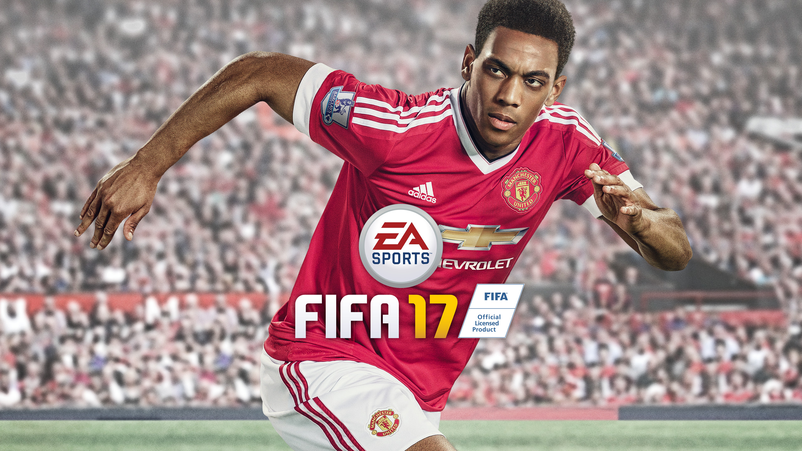 Anthony Martial FIFA 17 HD Wallpaper