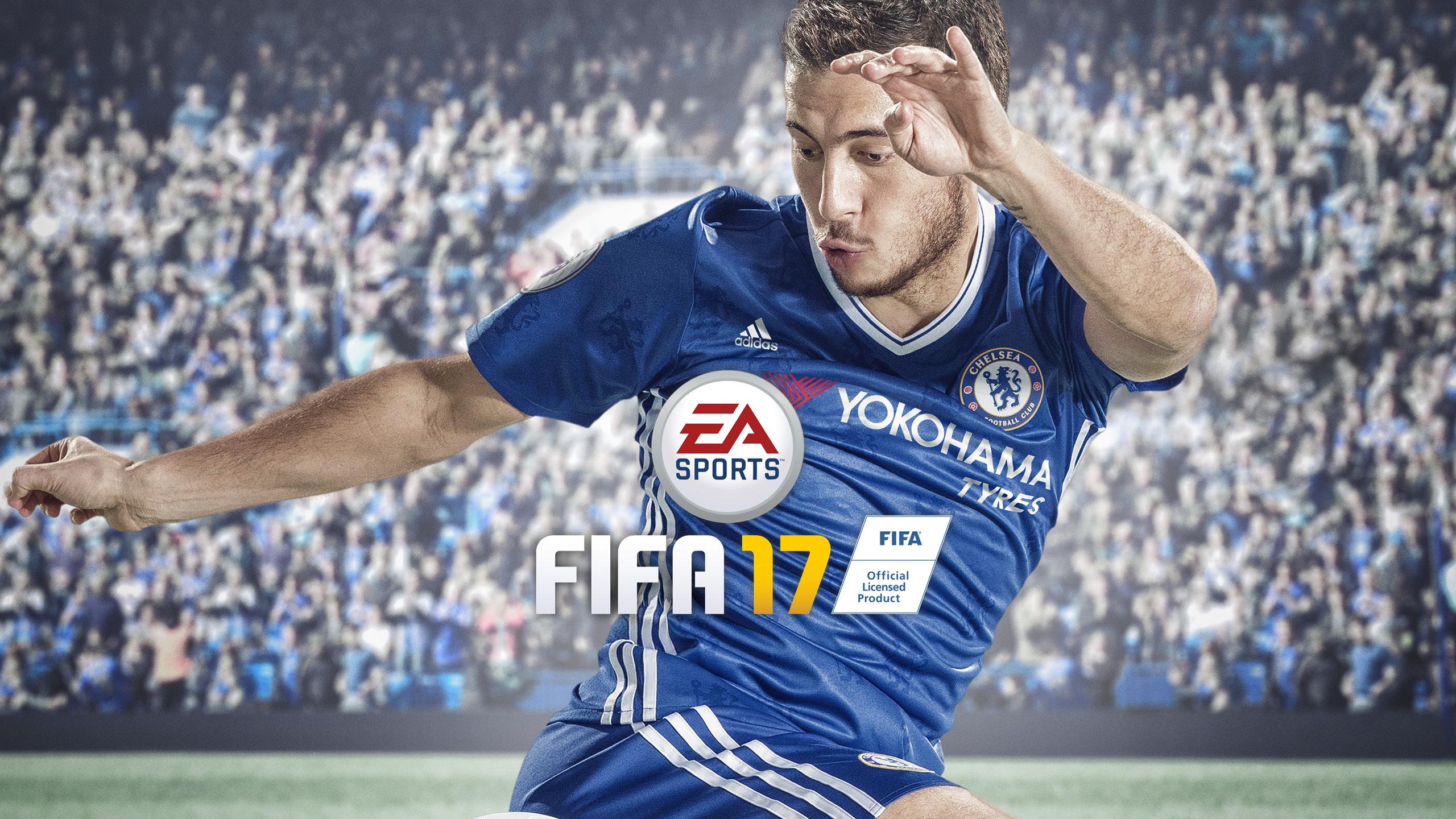 Eden Hazard FIFA 17 Wallpaper