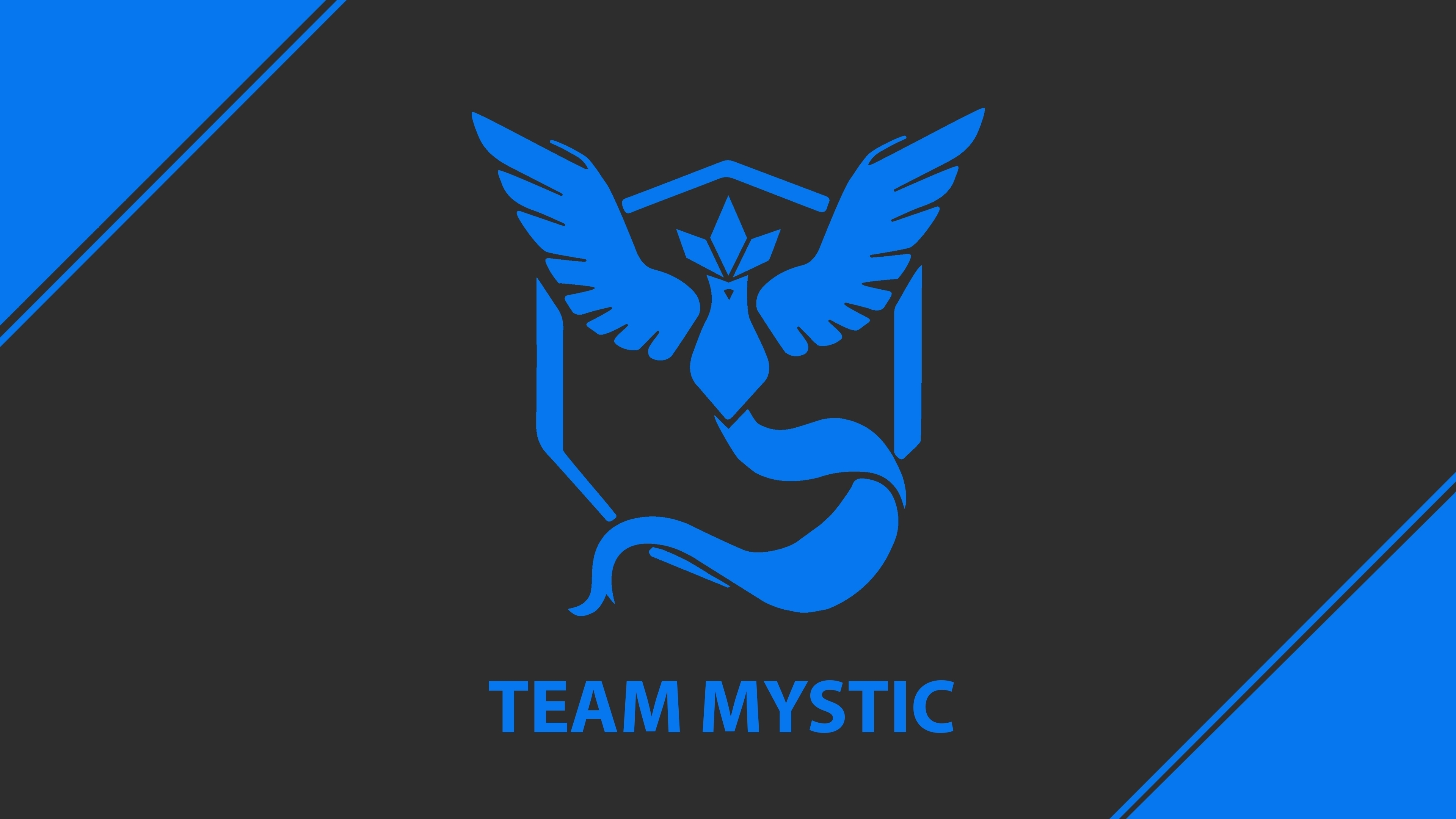 Pokemon Go Team Mystic Team Blue 4K wallpaper