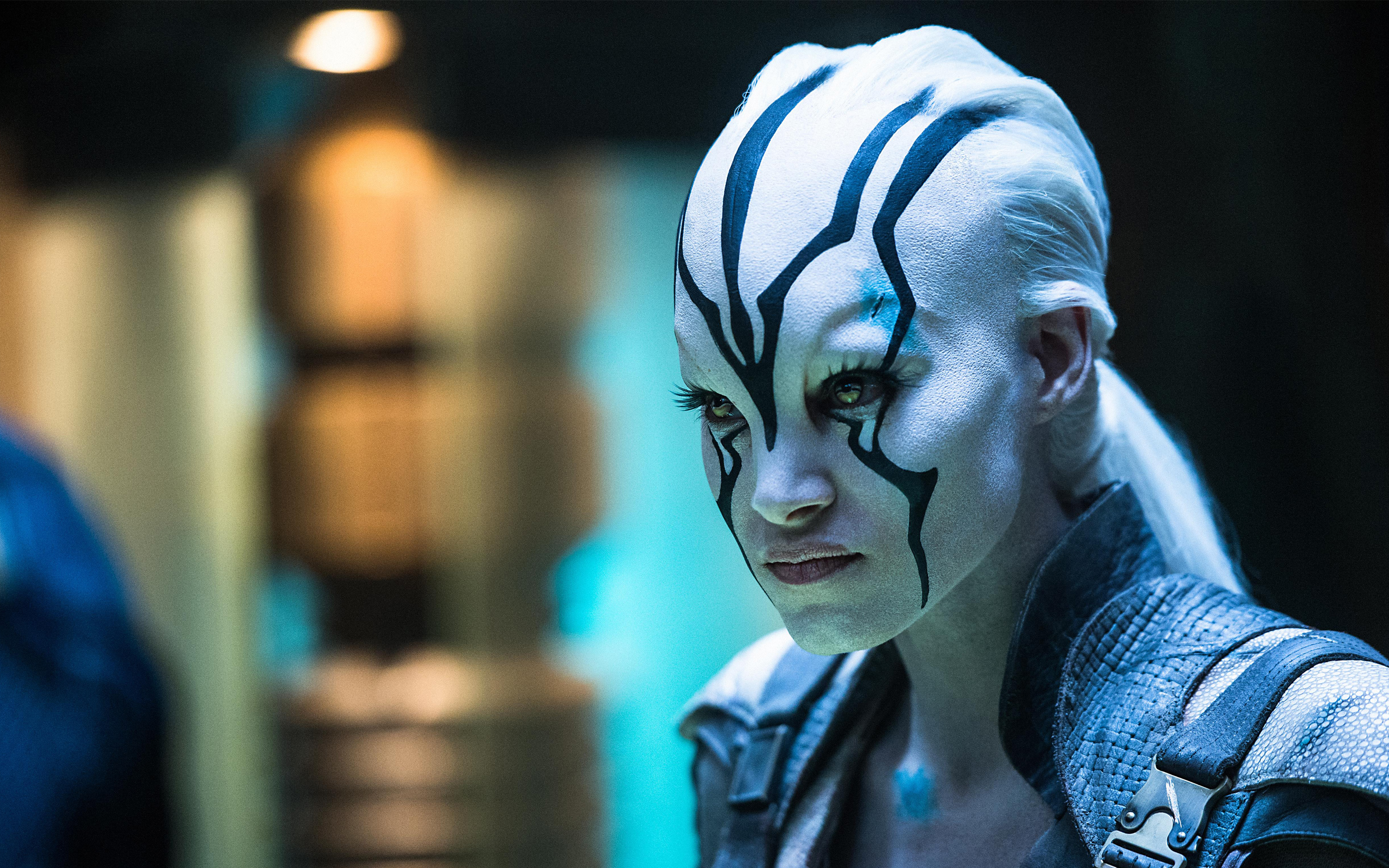 Jaylah Sofia Boutella Star Trek Beyond 4K wallpaper