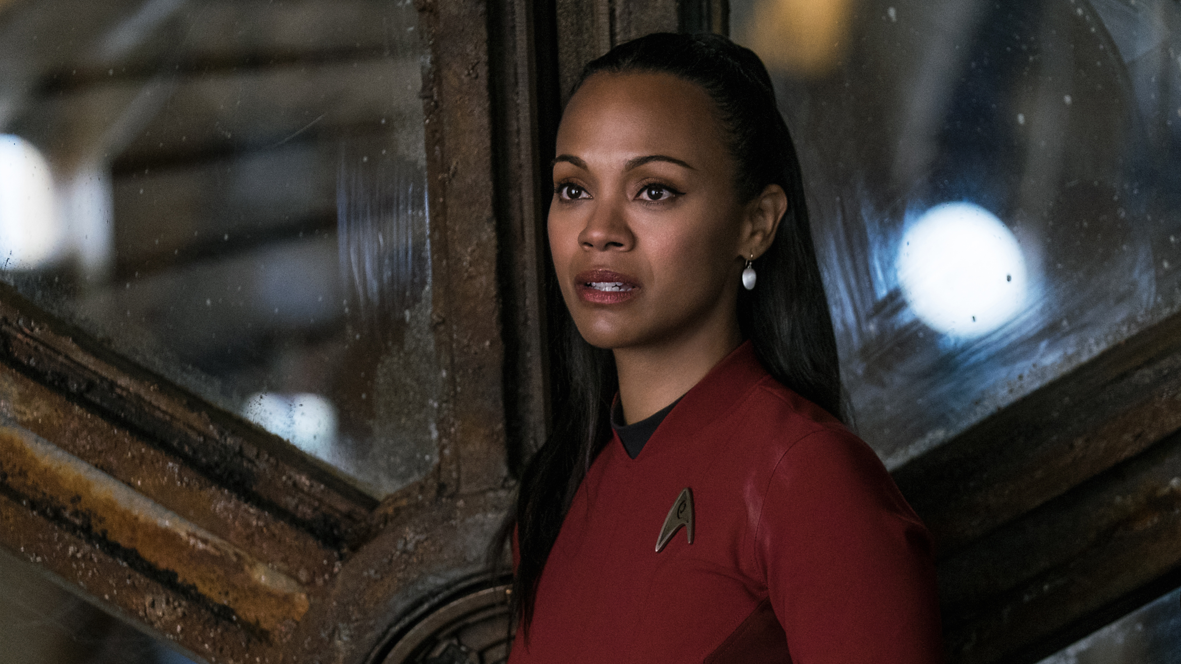 Nyota Uhura Star Trek Beyond Zoe Saldana wallpaper