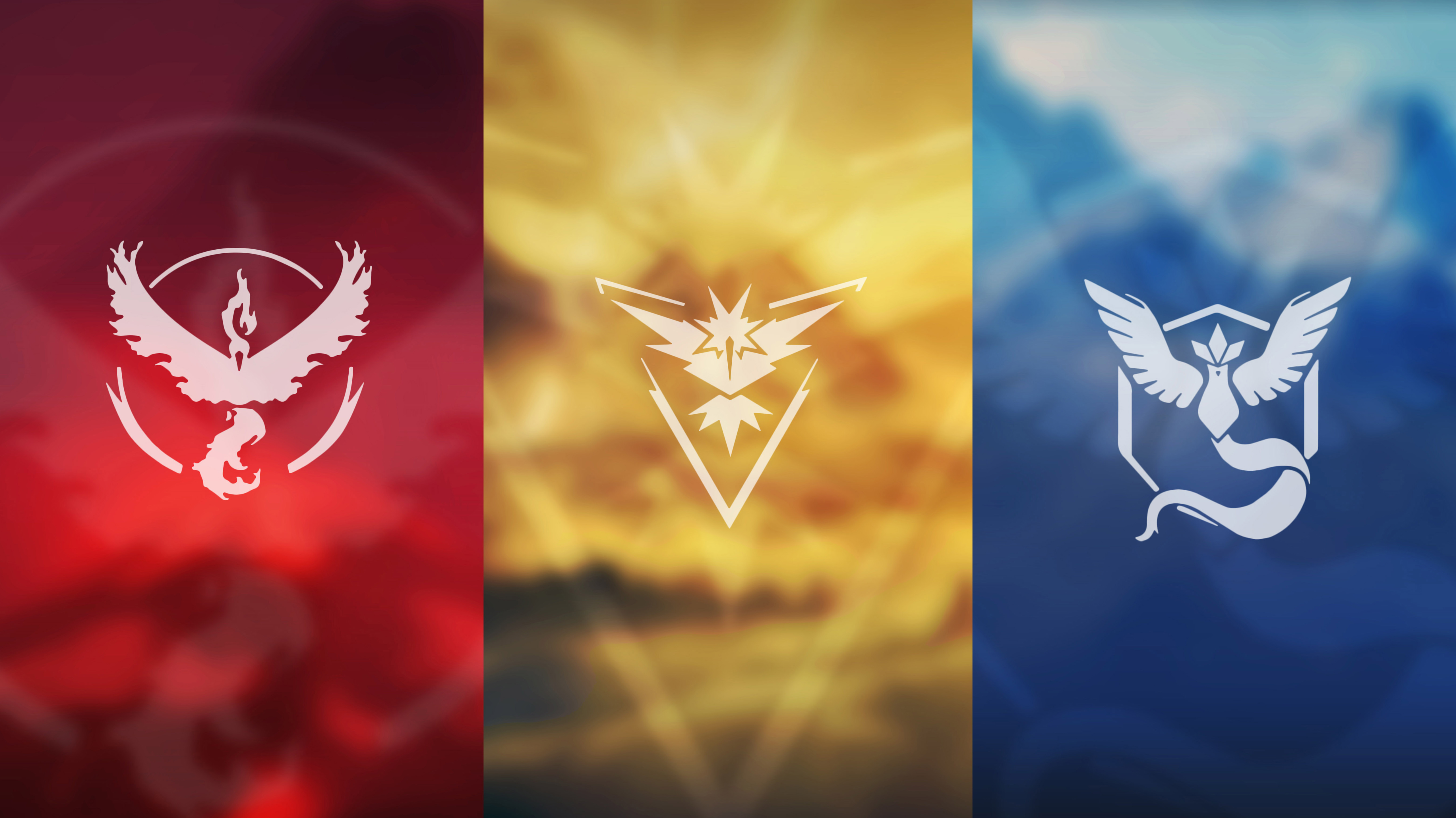 Pokemon Go Teams 5K wallpaper
