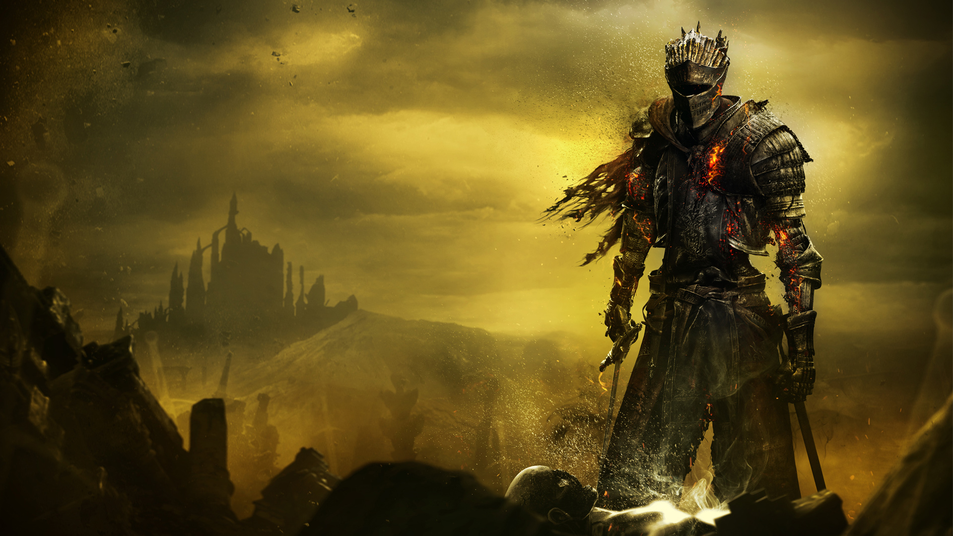 Soul of Cinder Dark Souls 3 wallpaper