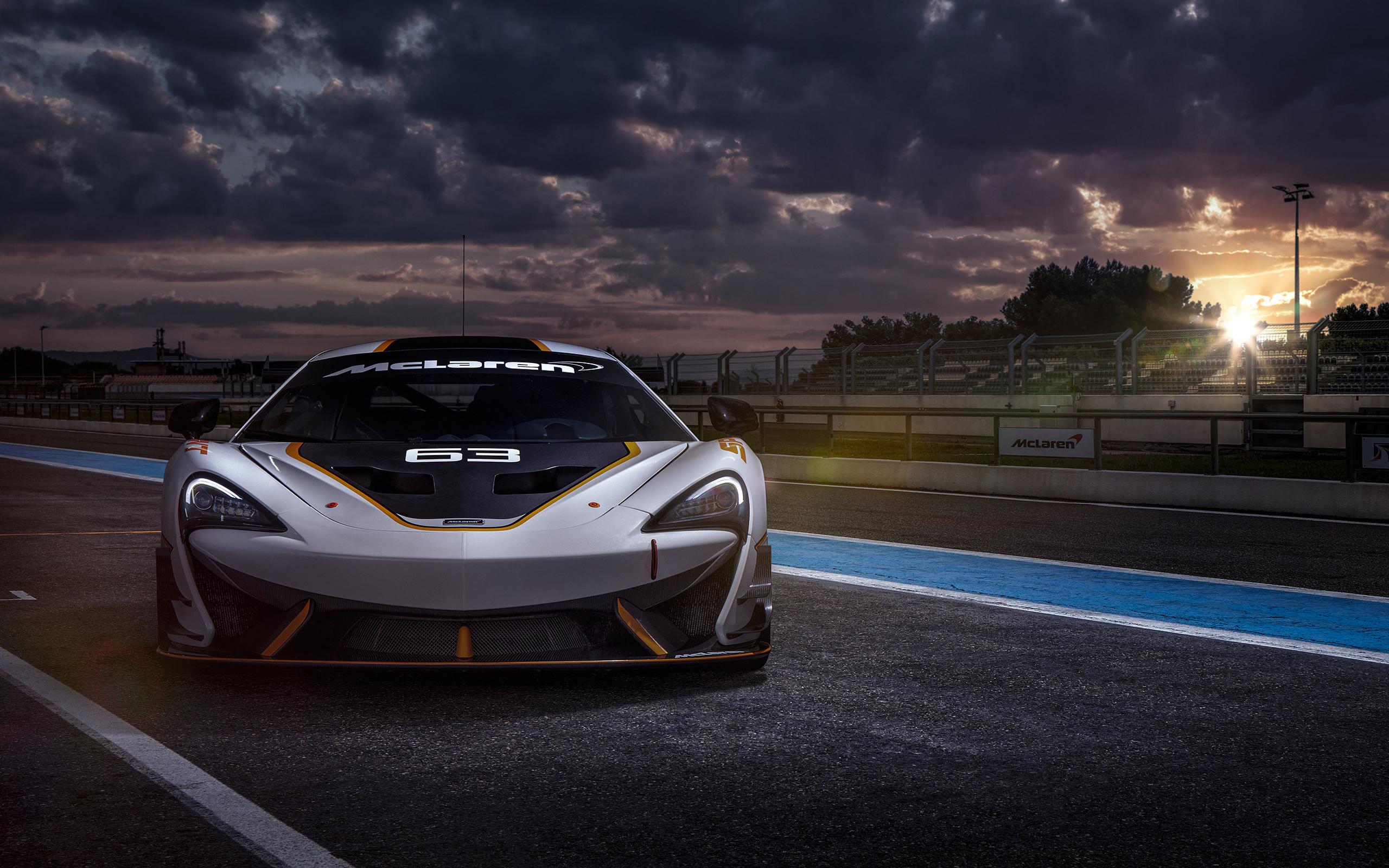 Wallpaper Full Hd Carros 11 1024 576: McLaren 650S GT Race Car HD Wallpaper