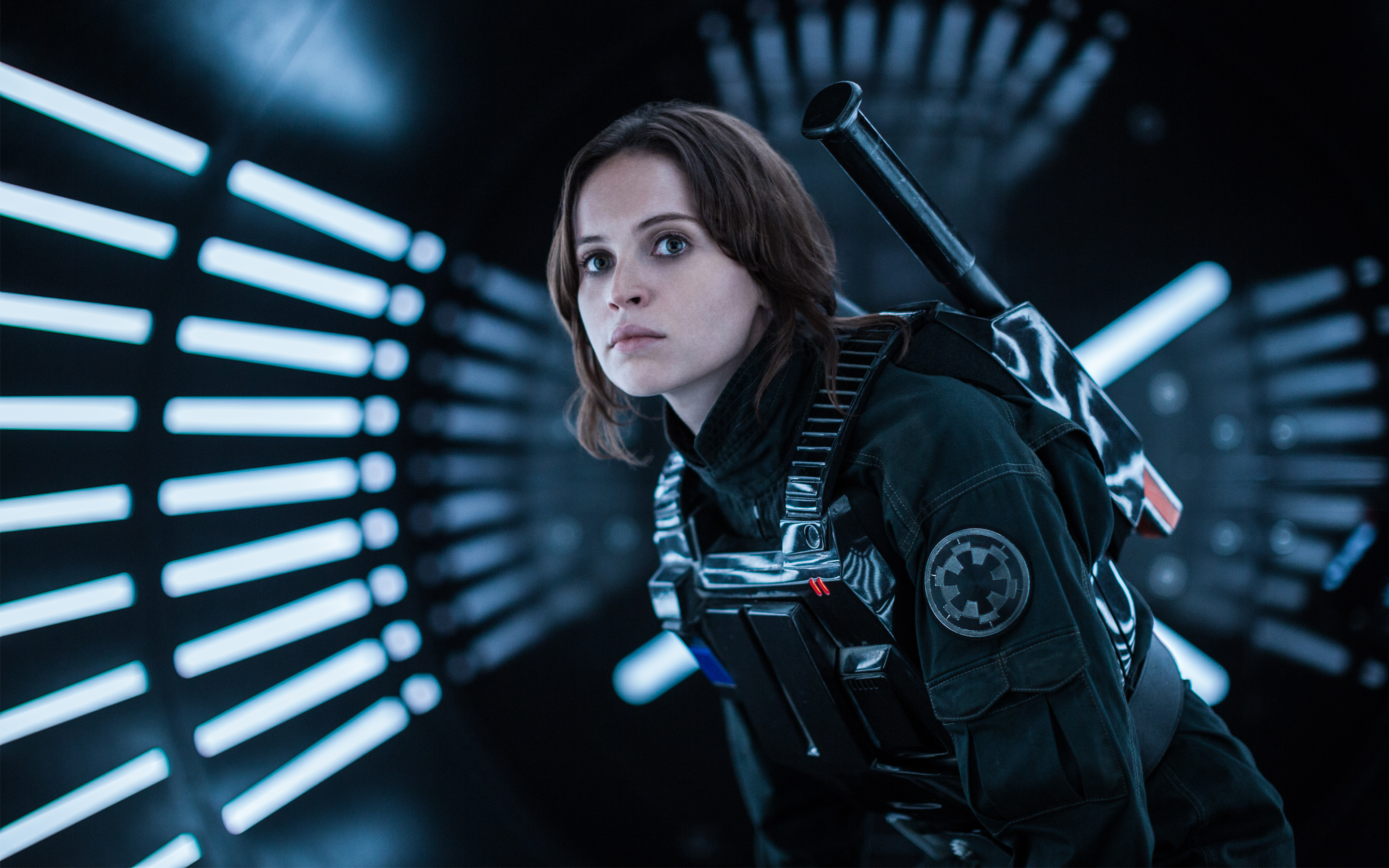 Felicity Jones Rogue One A Star Wars Story wallpaper