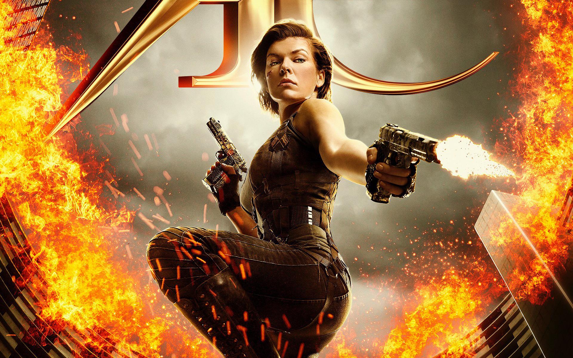 Resident Evil The Final Chapter HD wallpaper
