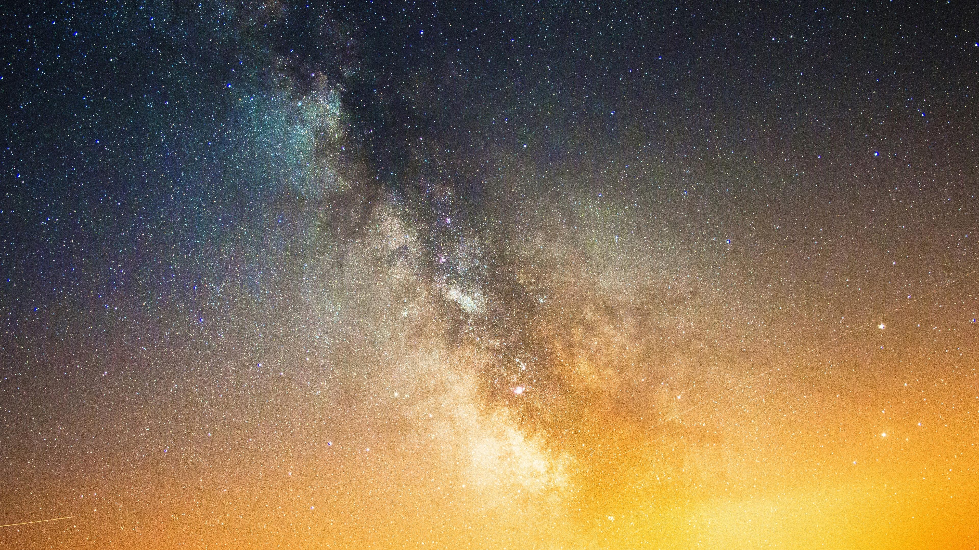 Space Milky Way 4K 4K Wallpaper